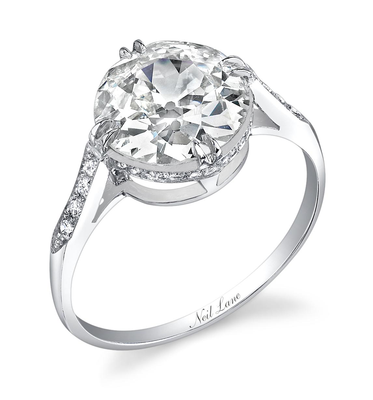 Rosie Huntingtonwhiteley's Ring Photo: Courtesy Of Neil Lane
