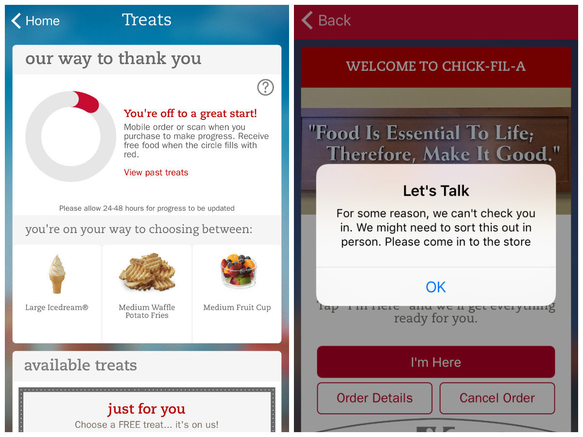 Nonetheless Even If The Mobile Order Feature Shits The Bed Or If You Simply Want To Do Things The Old Fashioned Way You Can Still Redeem The Free