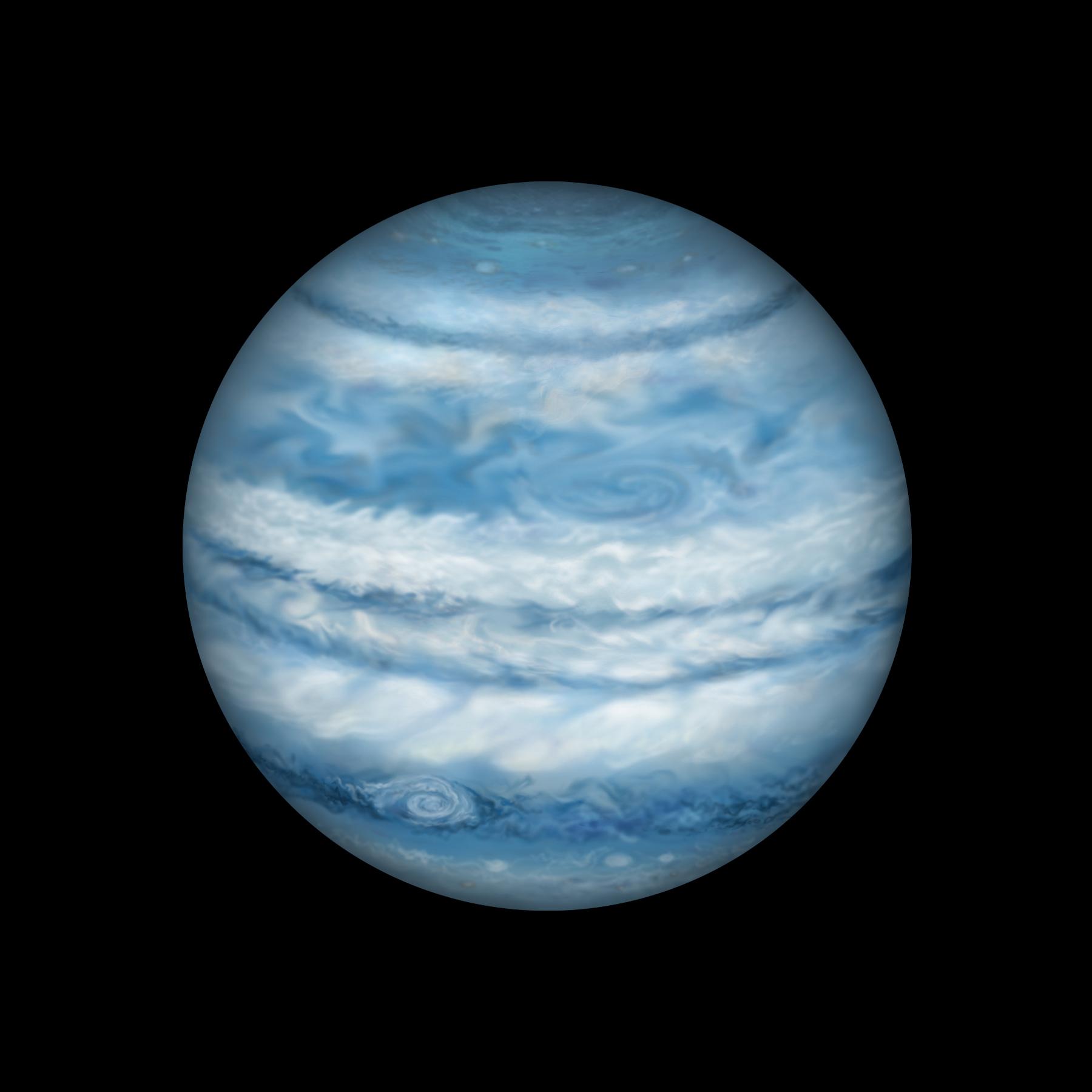exoplanet landscape orbiting giant planet - photo #23