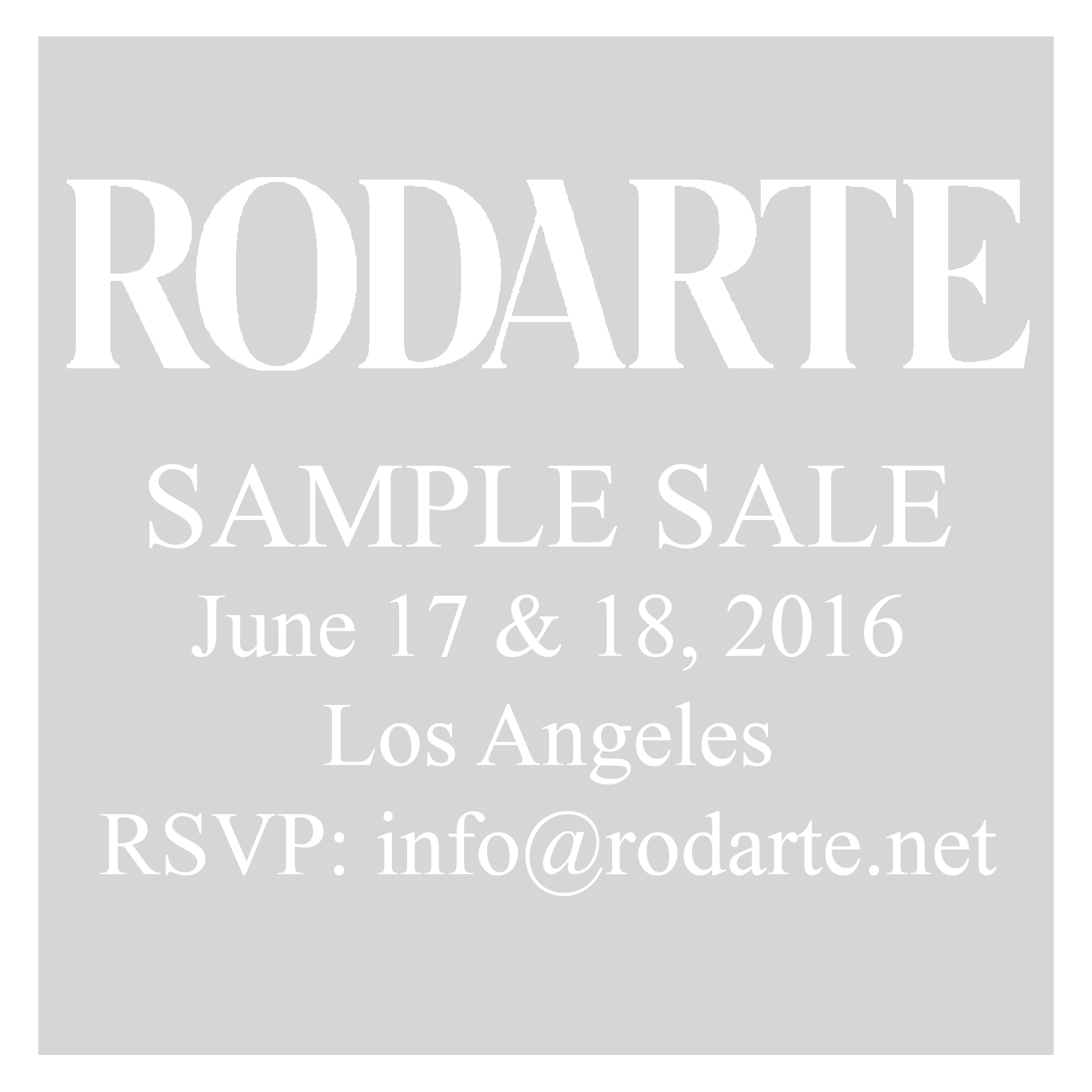 Racked La Rodartes Two Day La Sample Sale Starts This Friday Racked La