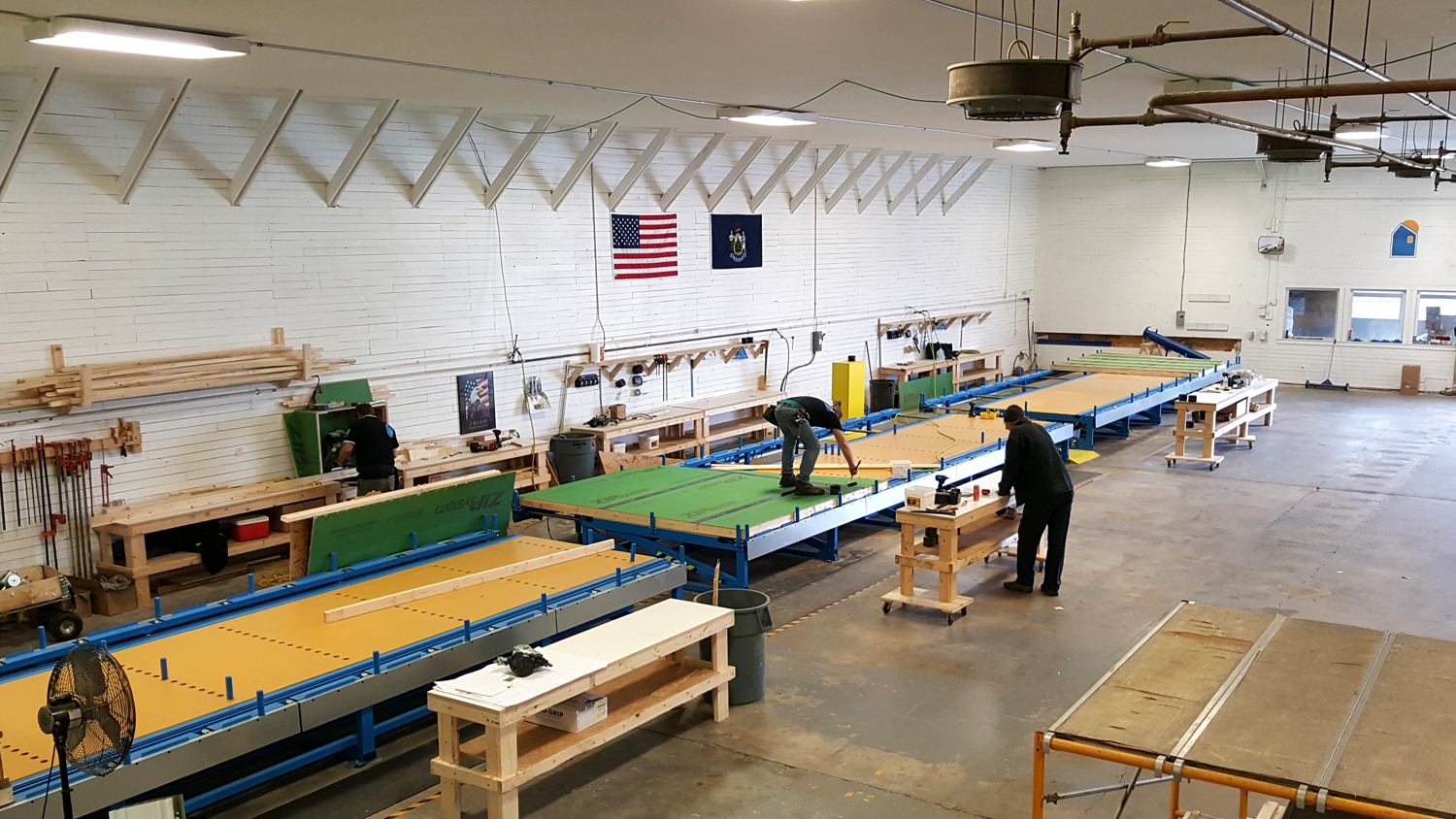 New Passive House Prefab Factory An Assembly Line For