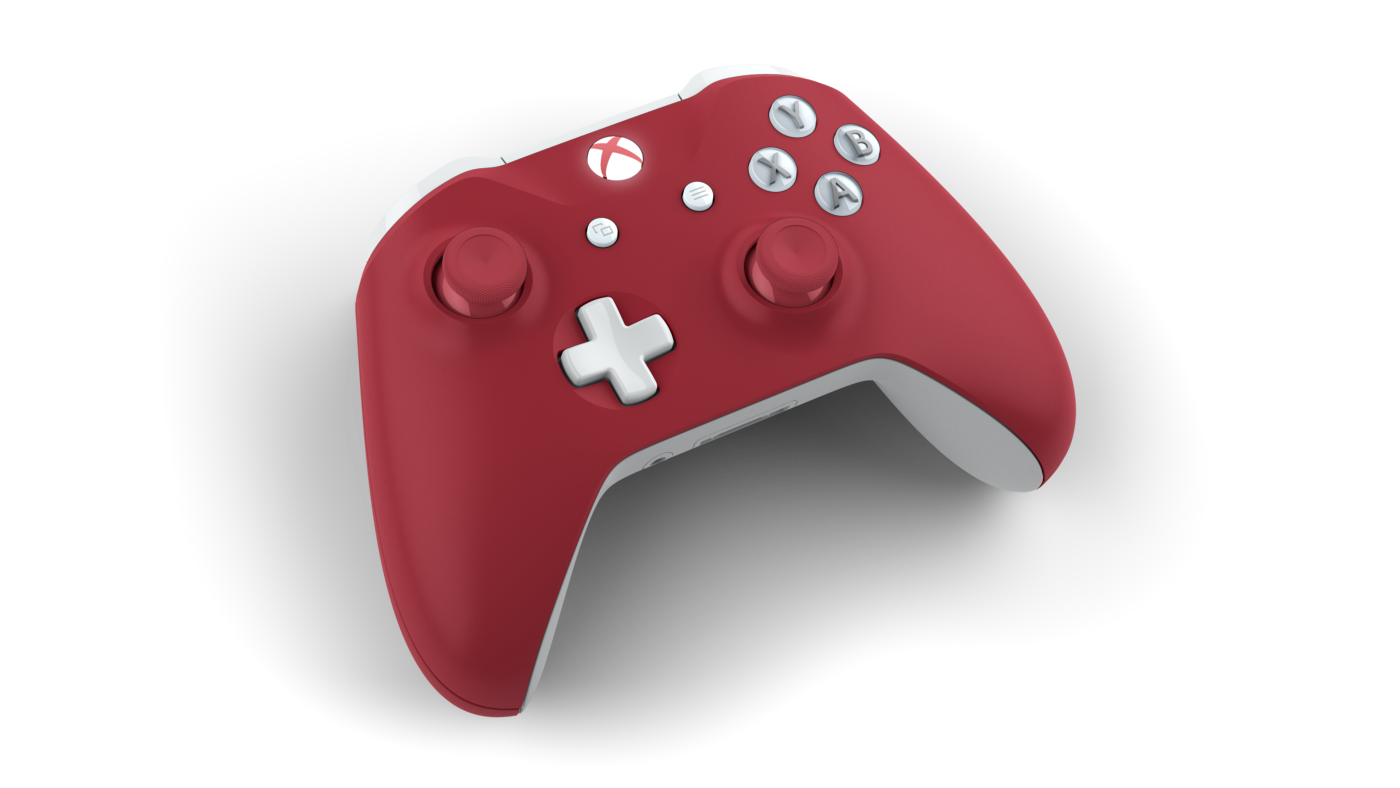 Xbox One Controllers (Big Ten Football Themes) by Jim