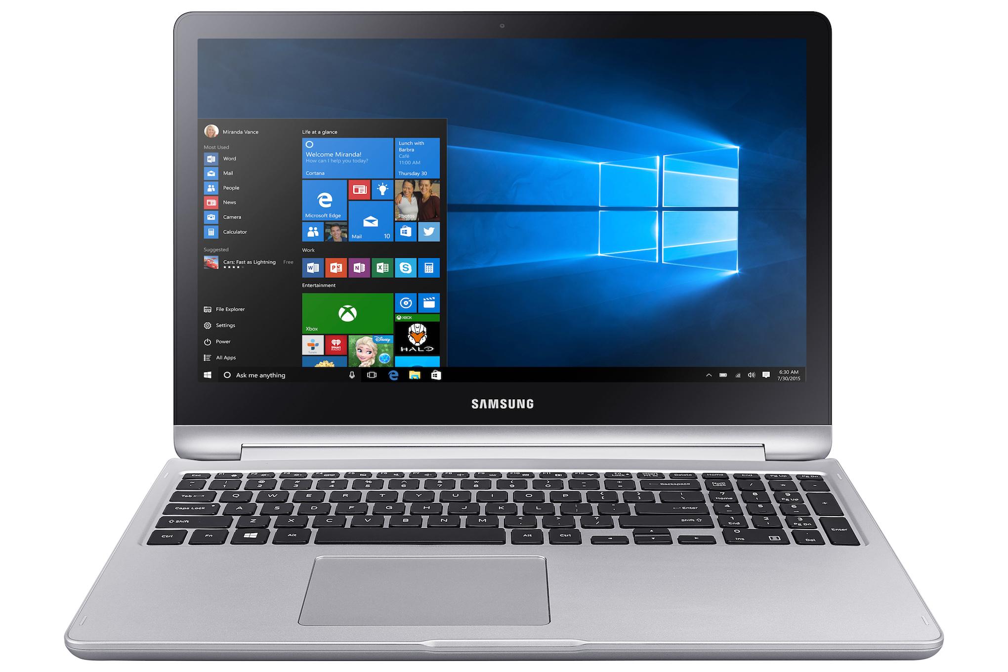 Notebook samsung 10 inch - Samsung Notebook 7 Spin