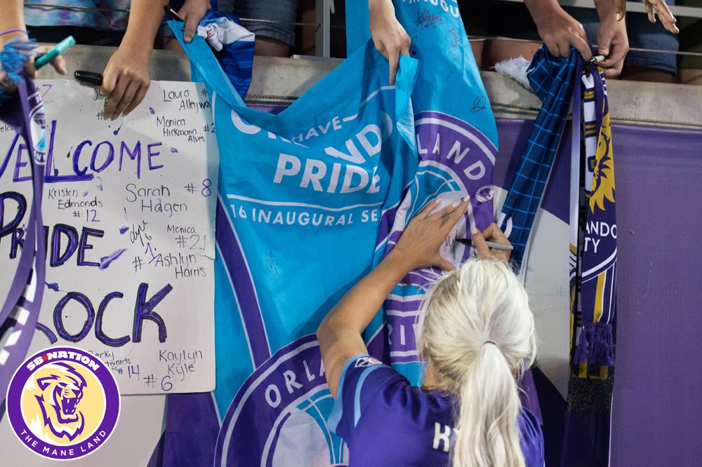 Orlando Pride vs  Houston Dash, Round 3: Photo Gallery - The Mane Land