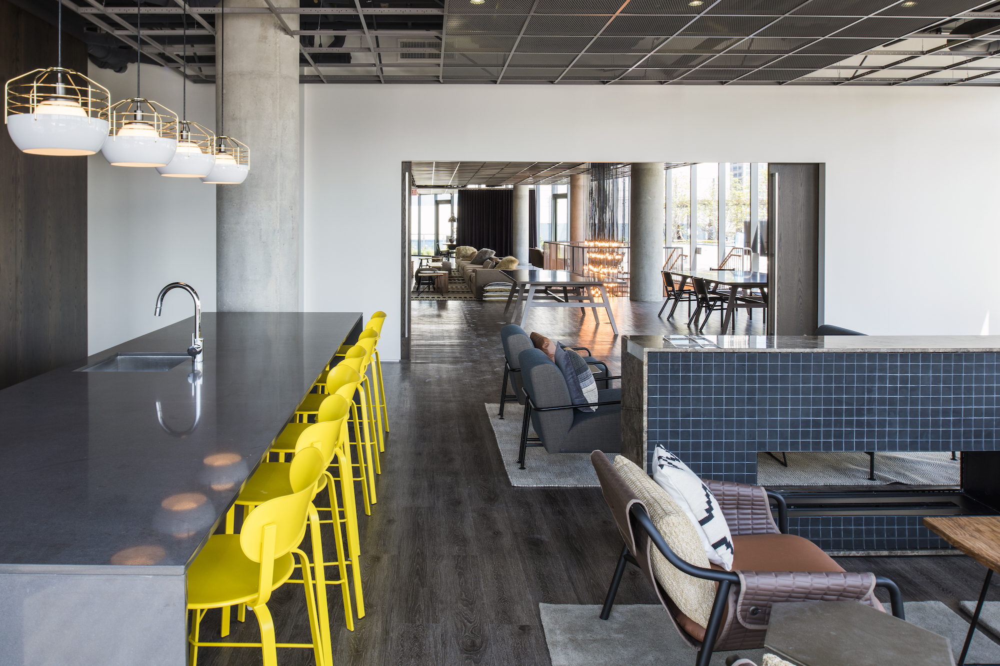 A Look Inside the New Parker Fulton Market Apartment Tower