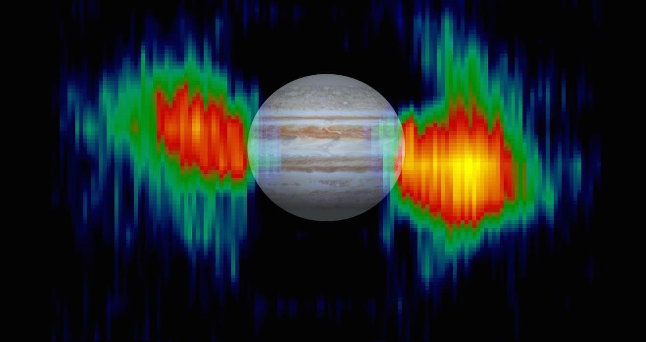 This Magnetosphere Extends Out Millions Of Miles Around Jupiter, Making It  The