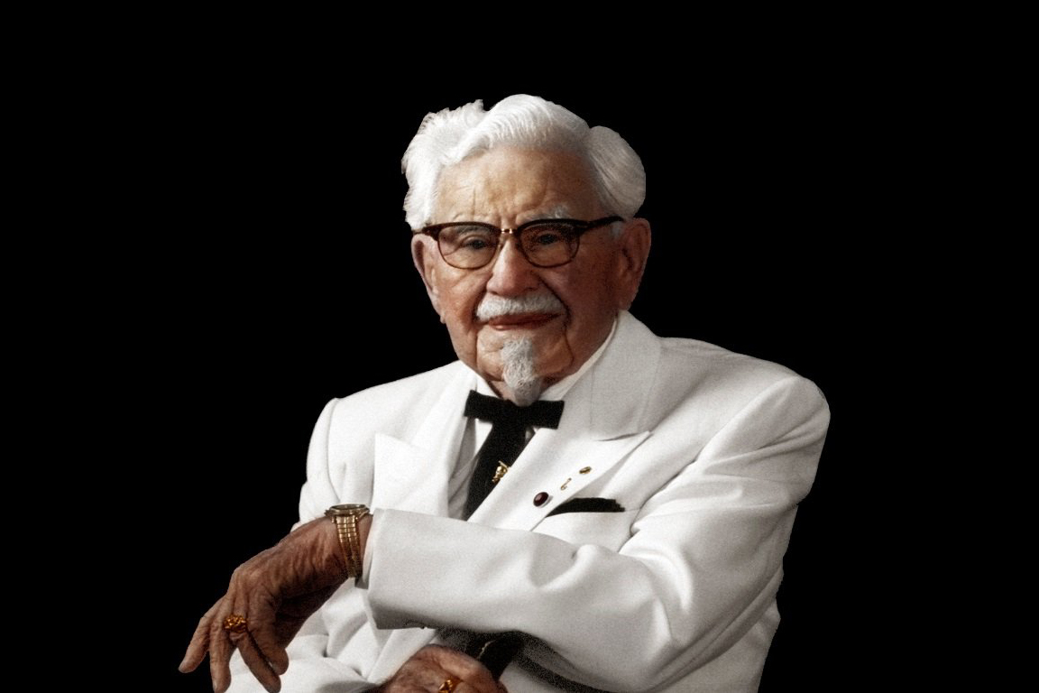 Image result for kfc sanders