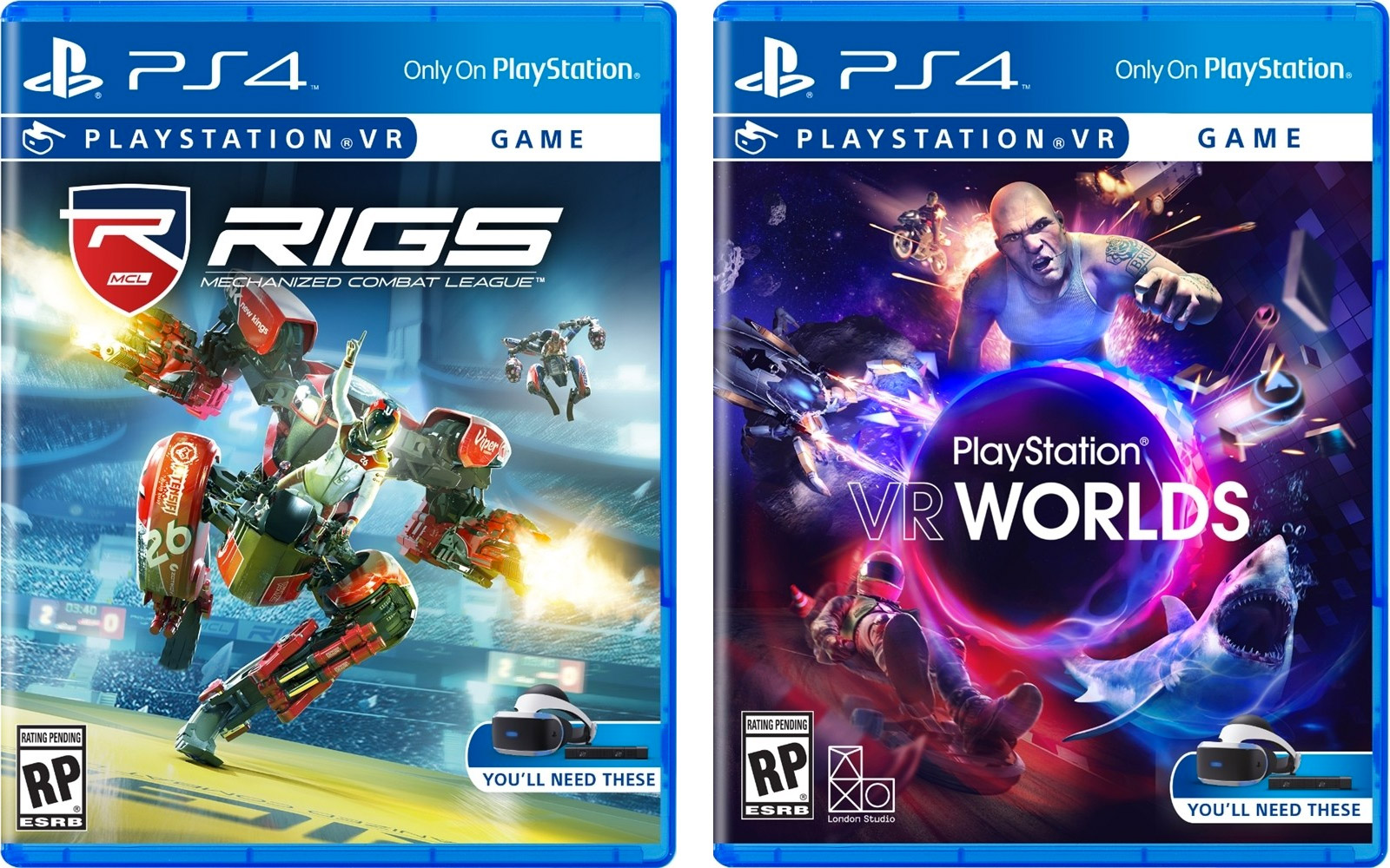 What Are The Ps4 Games : Here s what playstation vr game boxes look like polygon