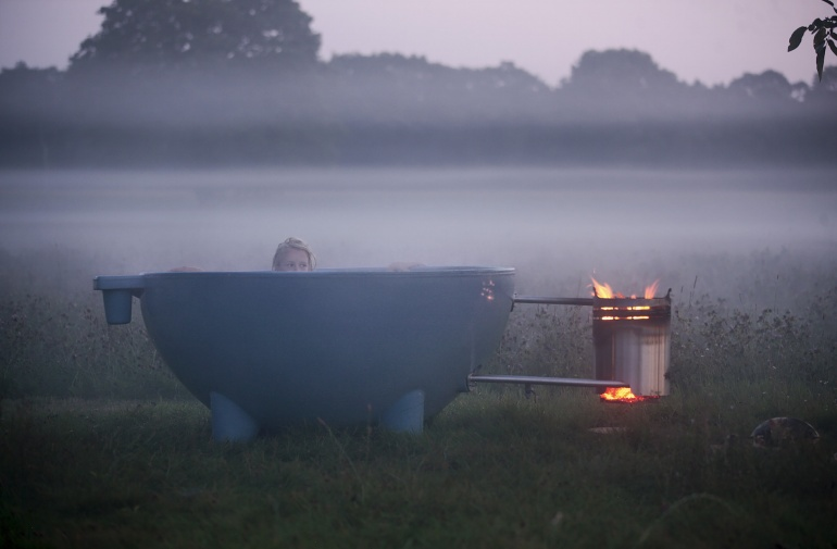 Can We Talk About These Wood-Burning Hot Tubs? - The Verge