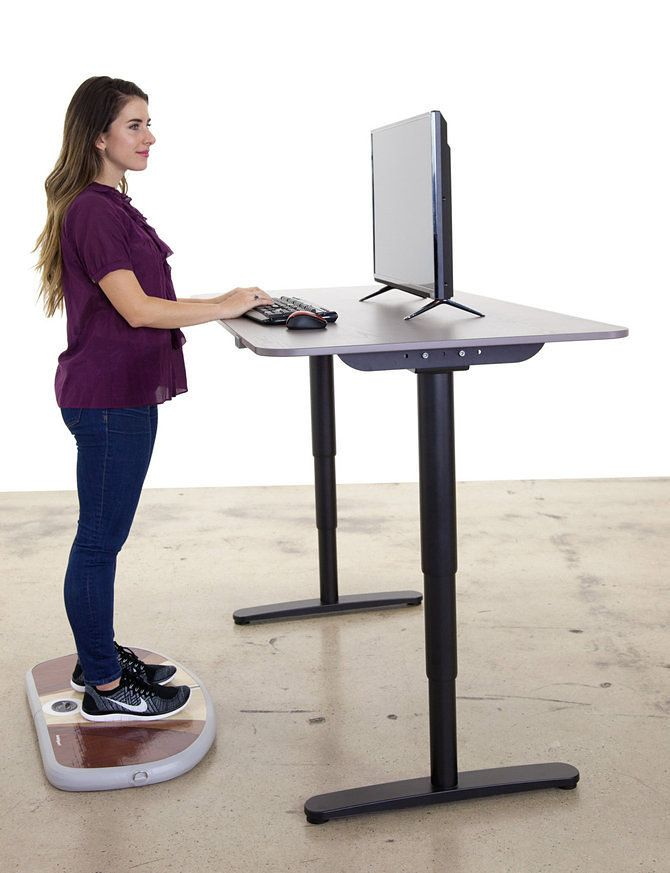 The Wurf Board A Portmanteau Of Work And Surfboard One Umes Is An Inflatable Pad That Moves Under Your Feet Like While You Standing