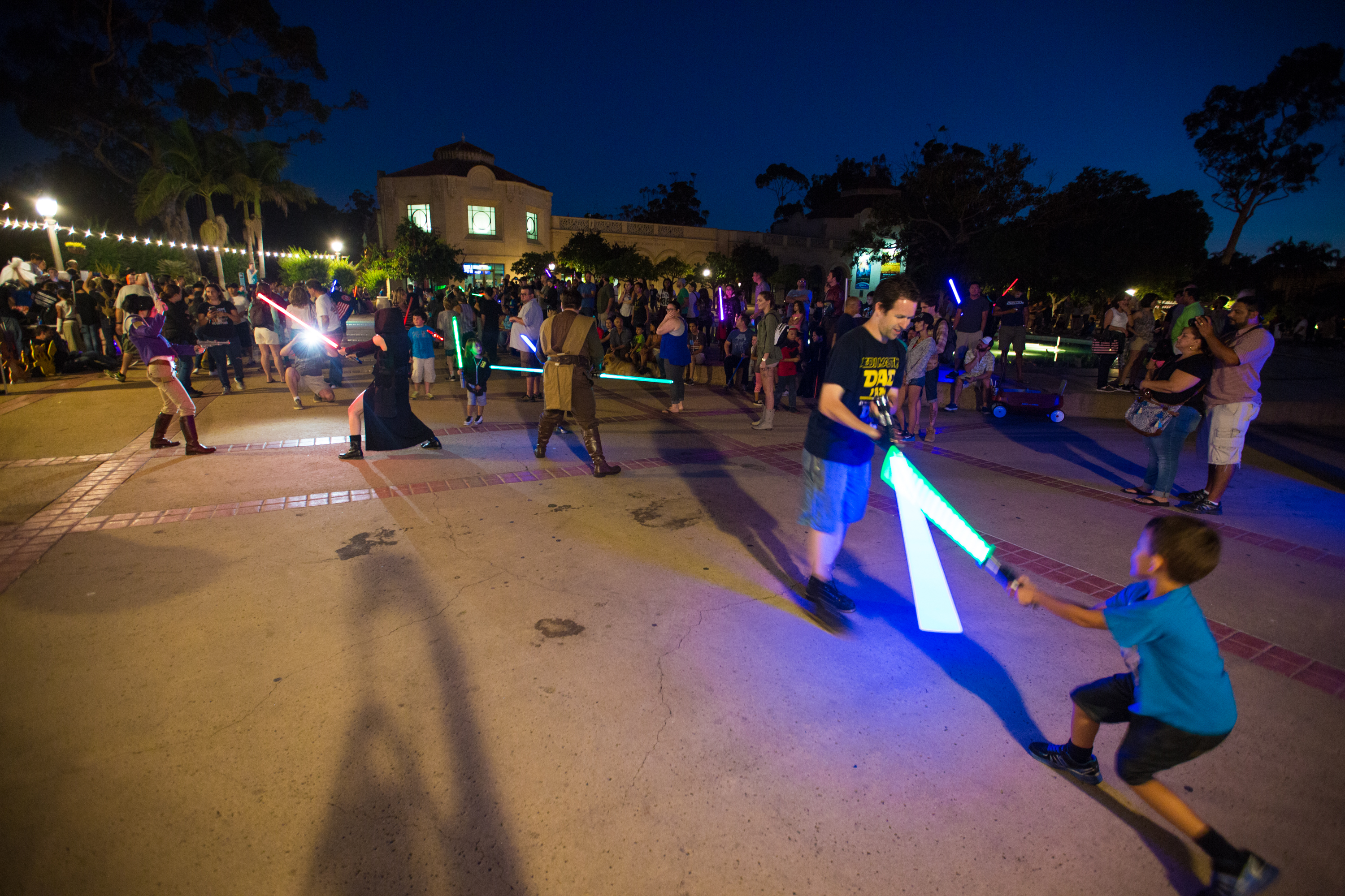 Lightsaber Battles Are As Fun And Fantastic In Real Life
