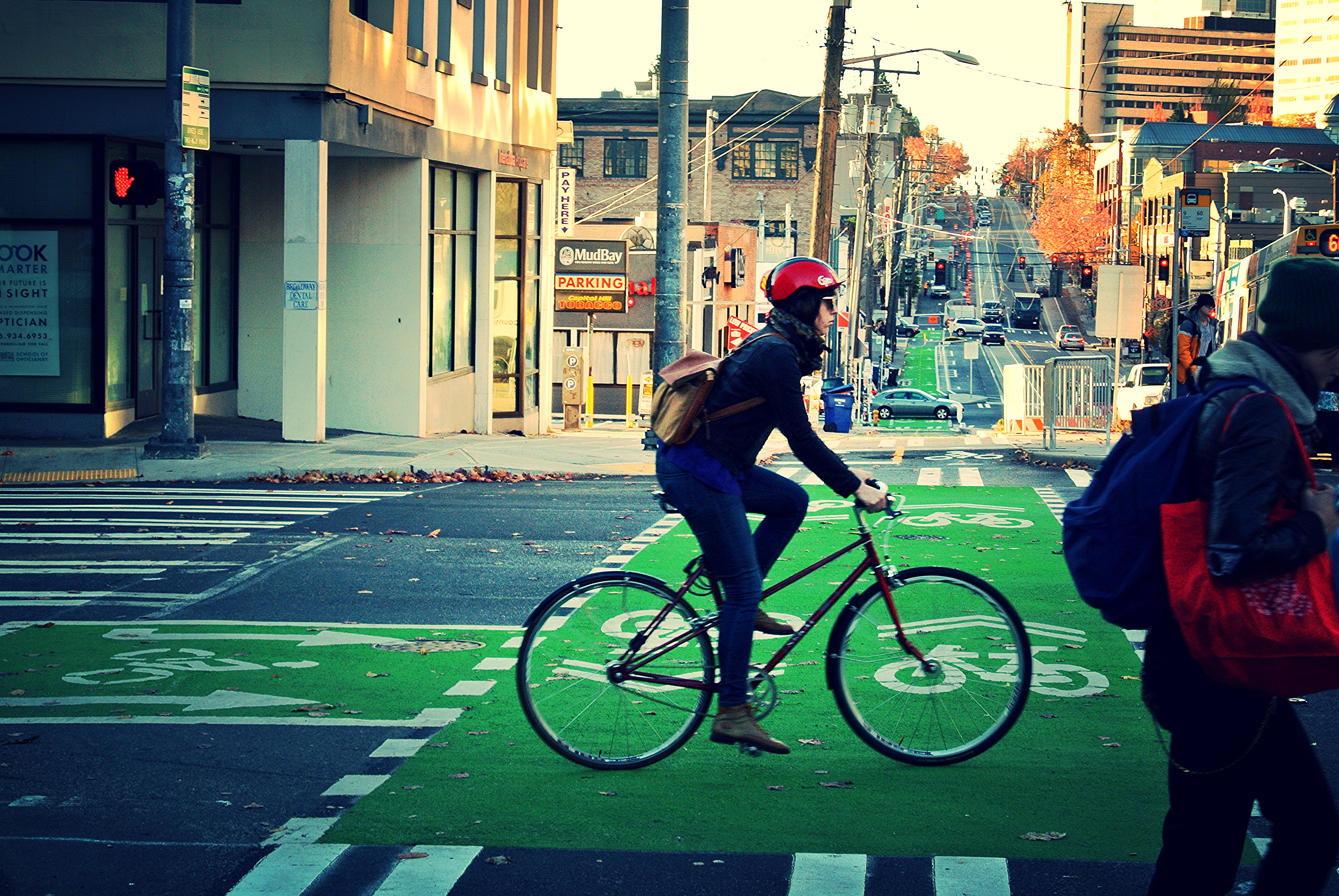 How cities embraced biking and walking in 2016