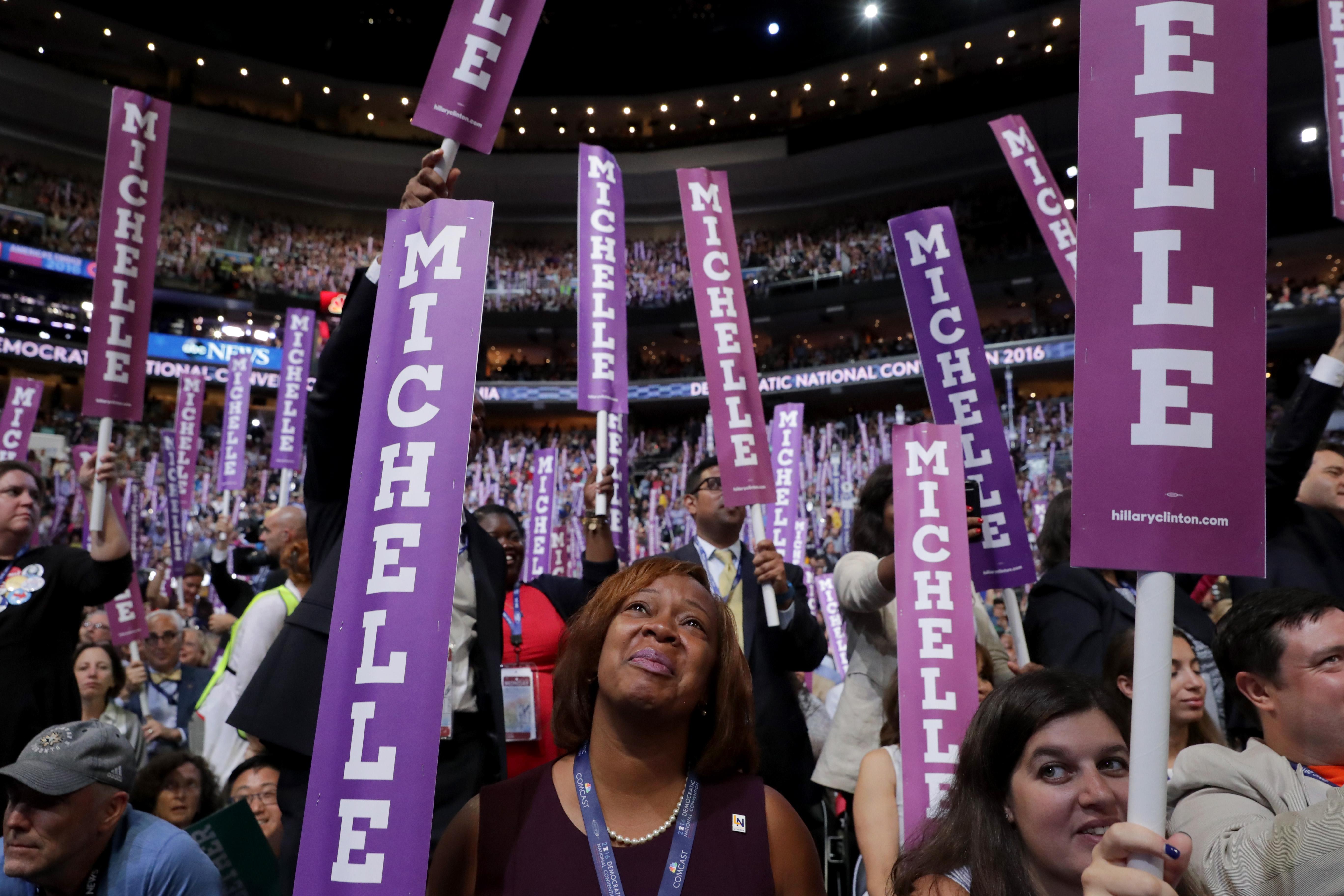 Michelle Obama DNC speech transcript: read the speech Democrats loved so much