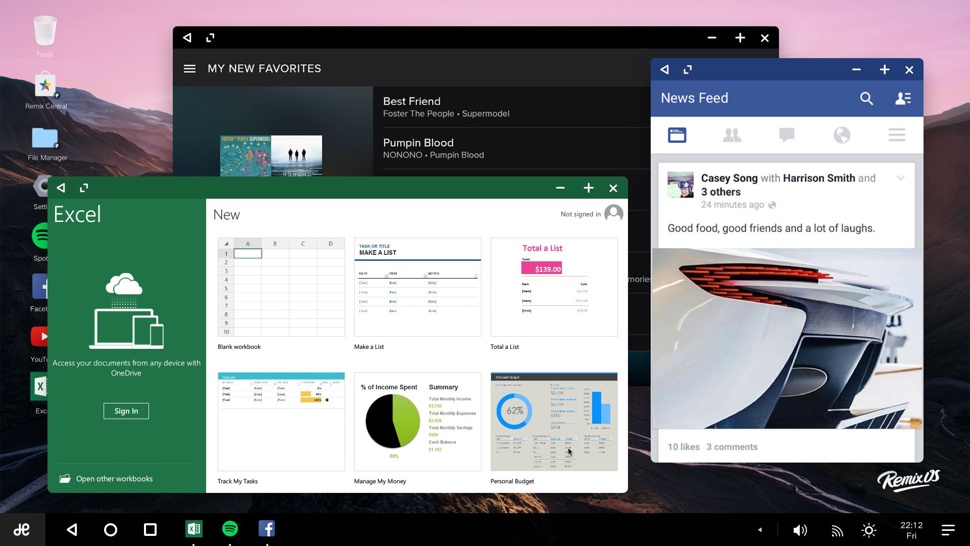 remix os for pc upgraded to marshmallow supports more