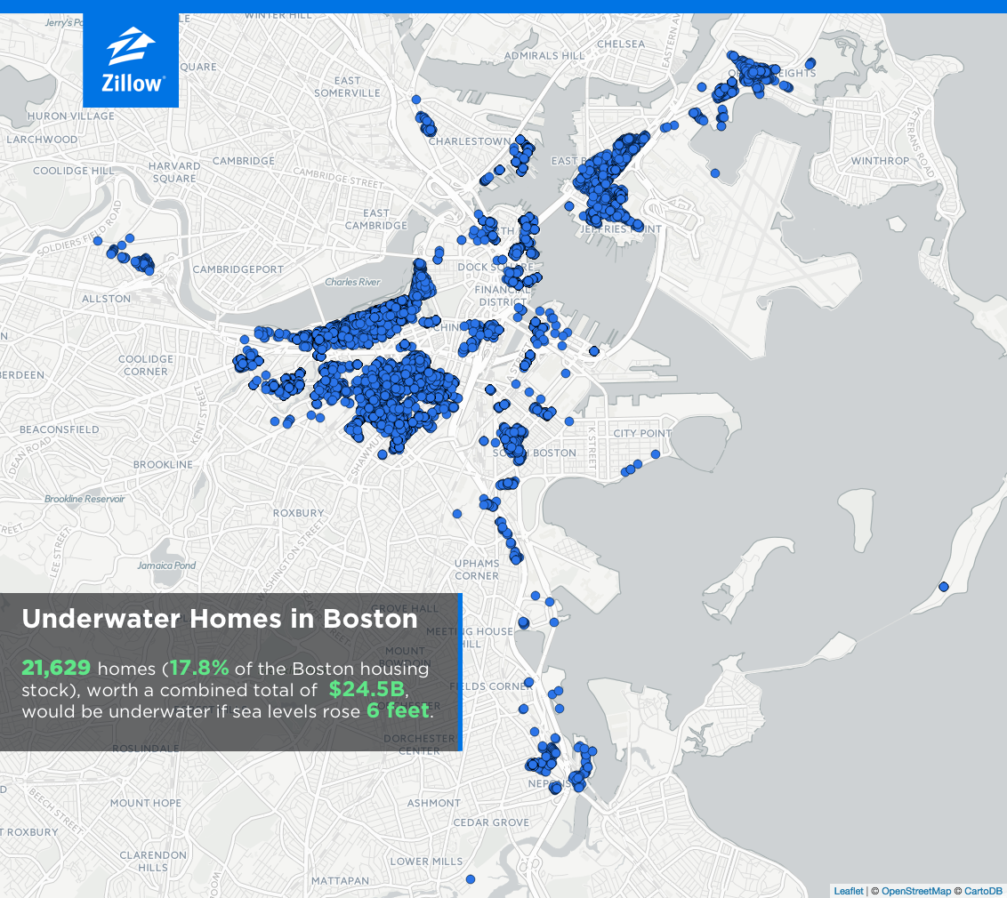 Sea Level Rise Will Put Trillion Worth Of US Homes In - Us sea level map