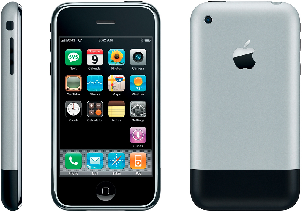 iphone a visual history the verge rh theverge com iPhone 2 iPhone 2G