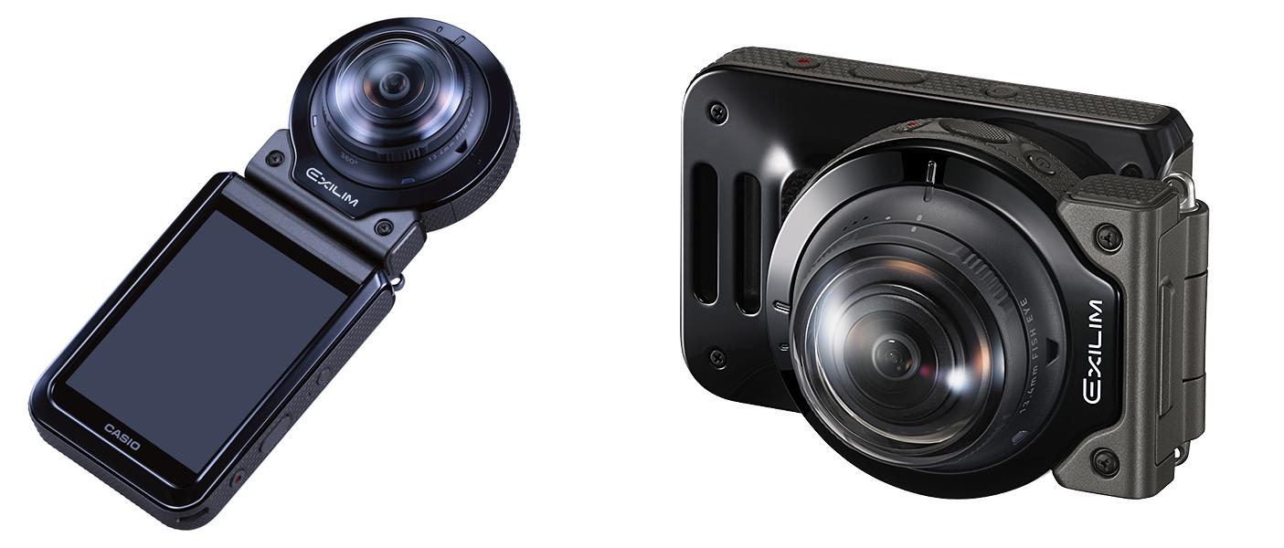 Casio's latest 360-degree camera has a detachable lens for remote ...