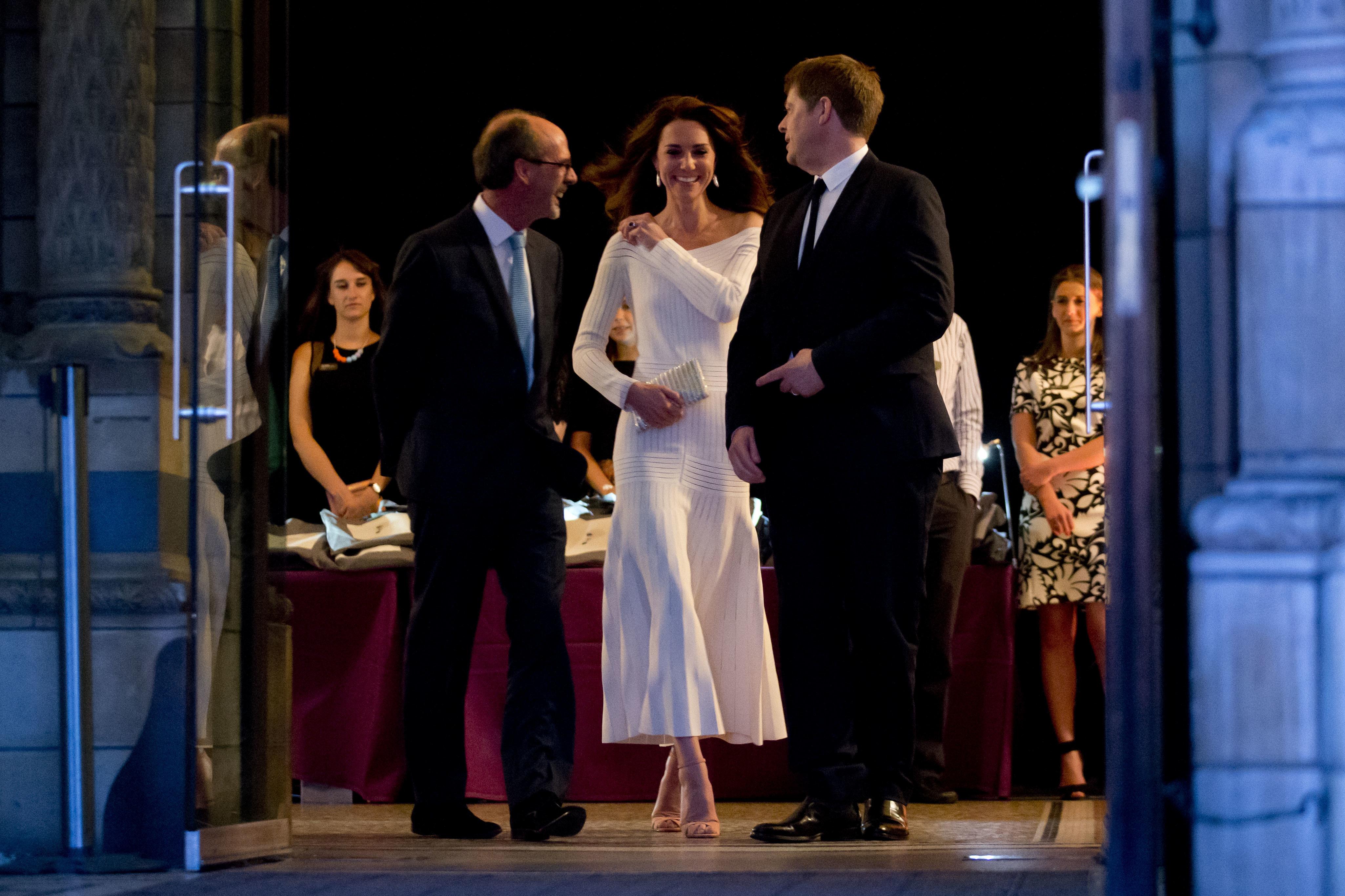 kate middleton white prom dress