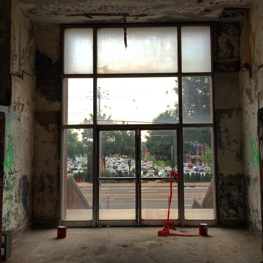 Foyer Entrance Yeast : Around atlanta recent snapshots from a bygone city