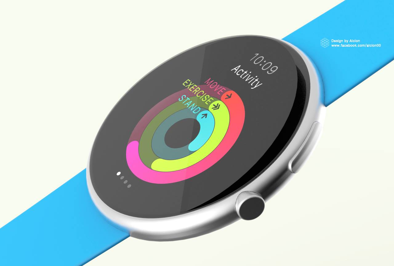 buy popular 8ef46 3f8c1 What if the Apple Watch was round? - The Verge