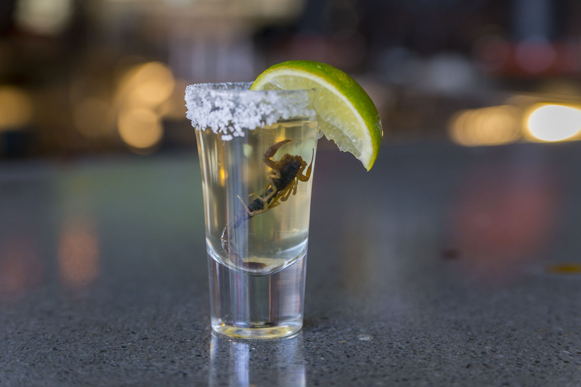 You Can Now Do Scorpion Shots On The Strip Eater Vegas