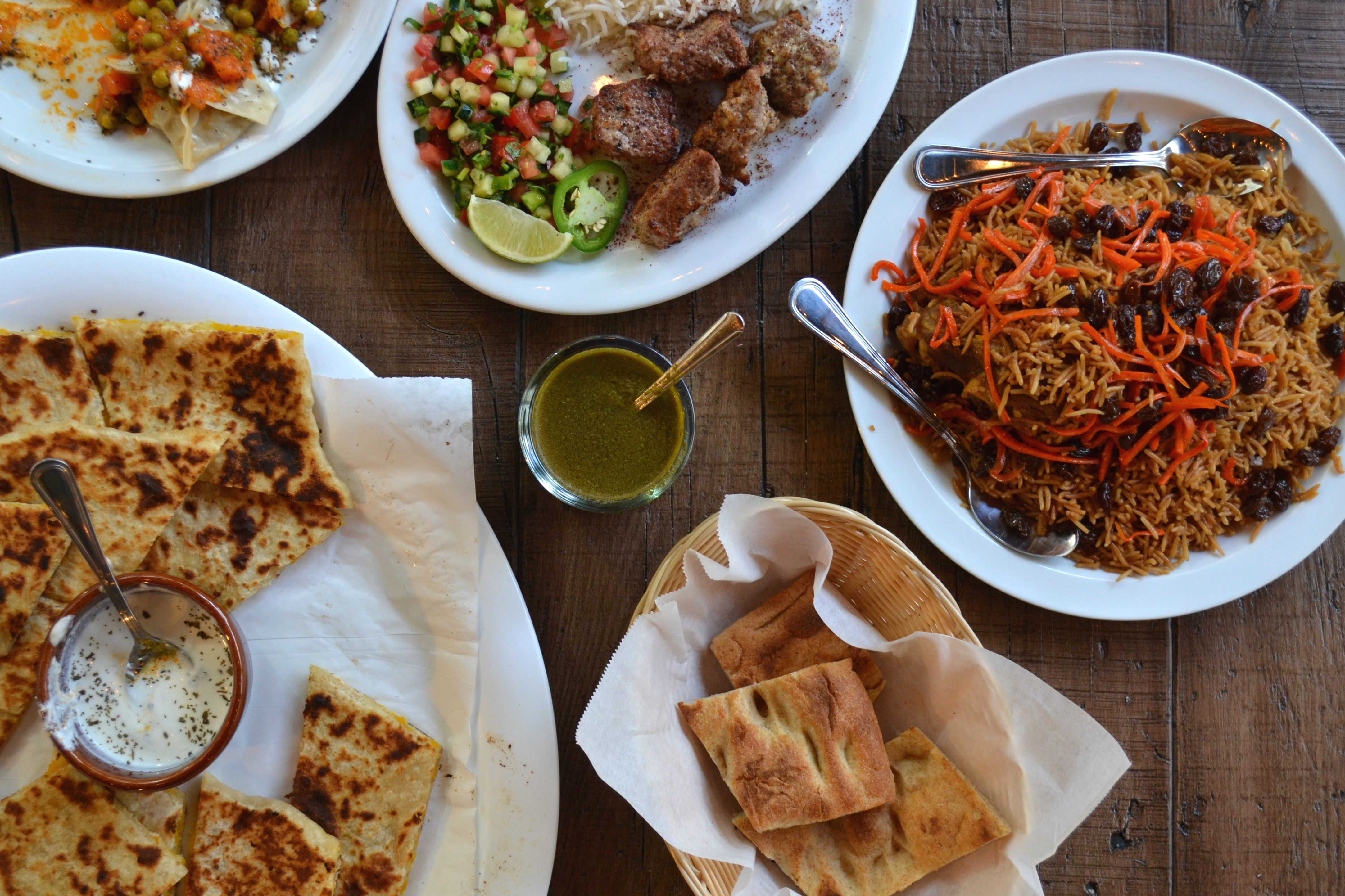 what to eat at this new afghan restaurant in beverly hills