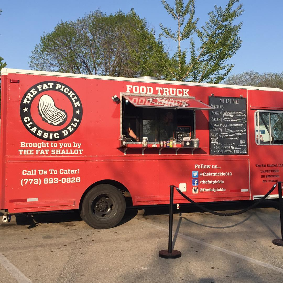 The Fat Pickle Food Truck