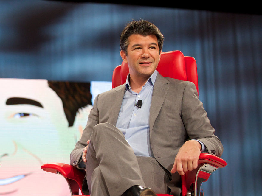 A photo of Uber CEO Travis Kalanick