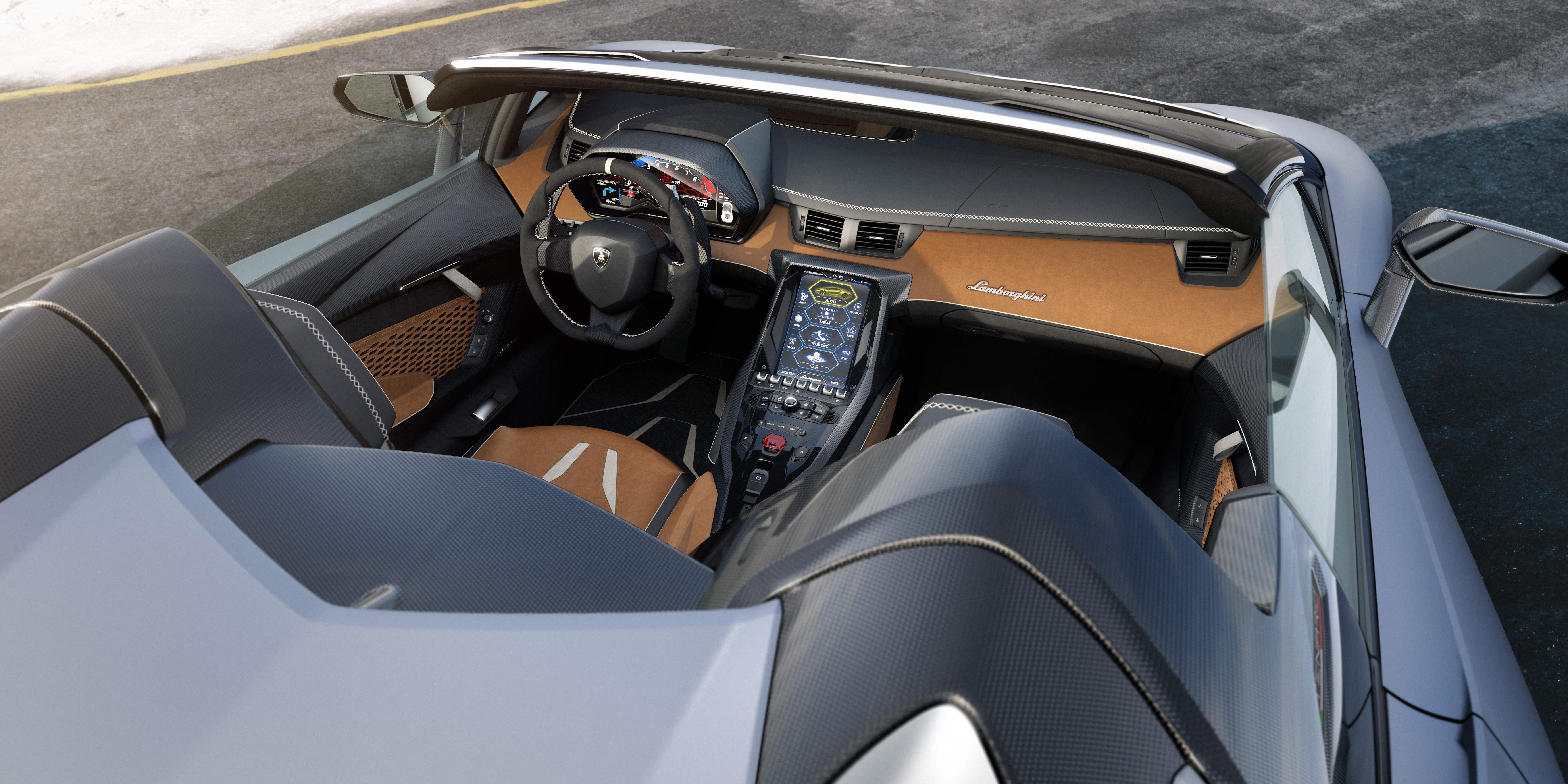 The Lamborghini Centenario Roadster Has 770 Horsepower Of Open Top