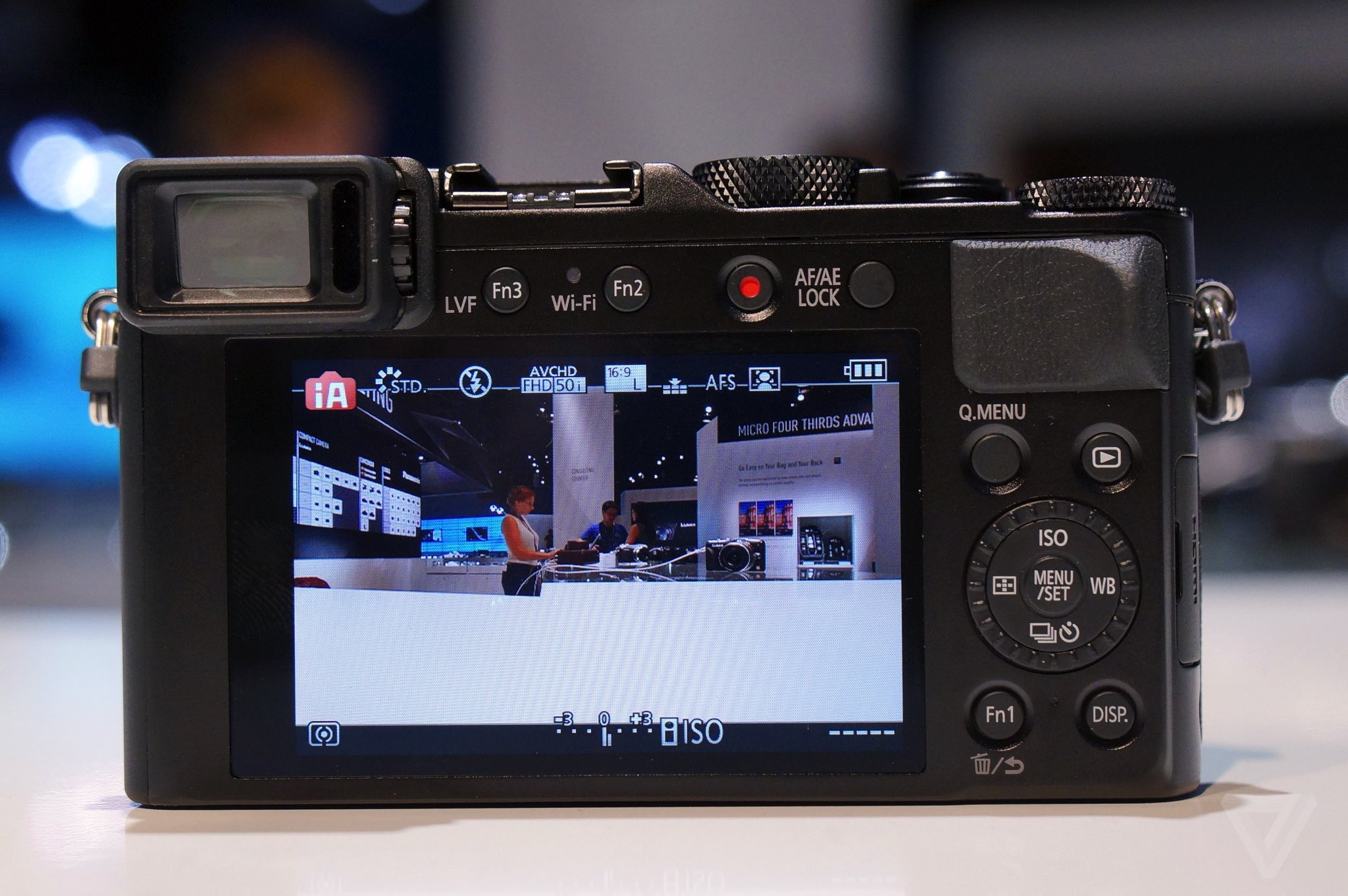 Panasonic's LX100 camera isn't quite as lovely as it looks