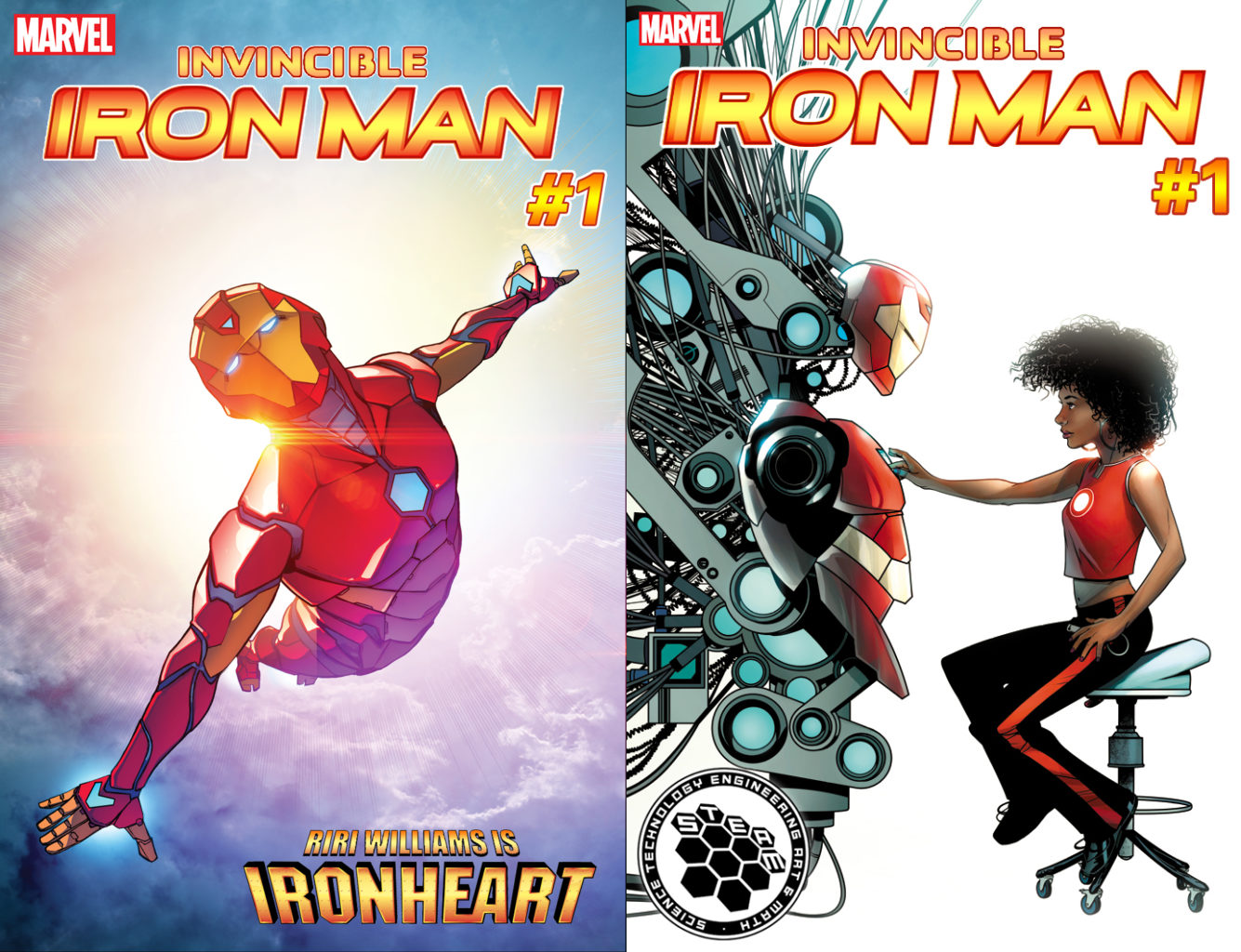 Iron Man's female successor will be named Ironheart - The
