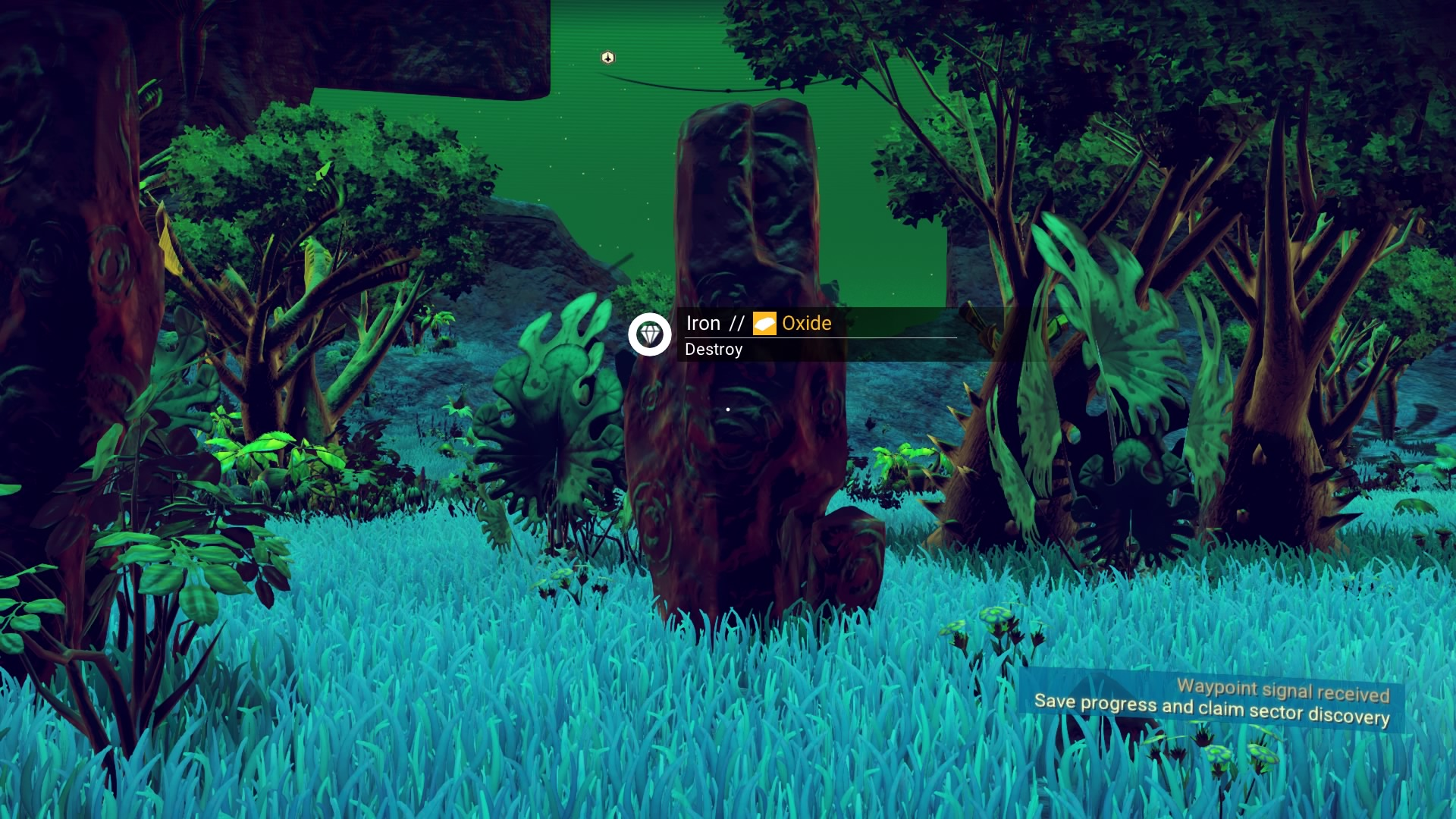 Learn No Man's Sky's secret visual language to find resources and