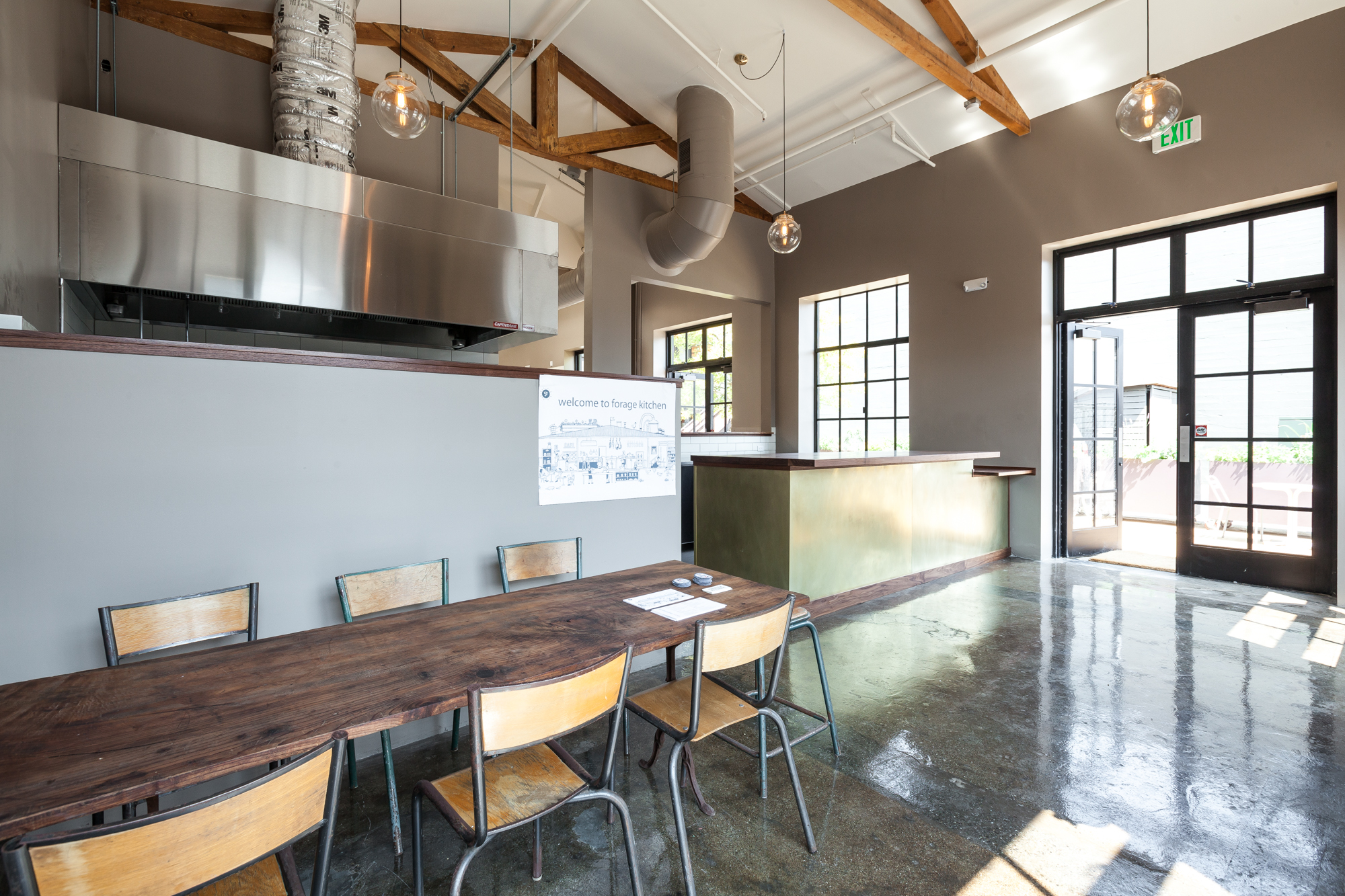 inside forage kitchen oaklands new incubator for food concepts - Kitchen Incubator