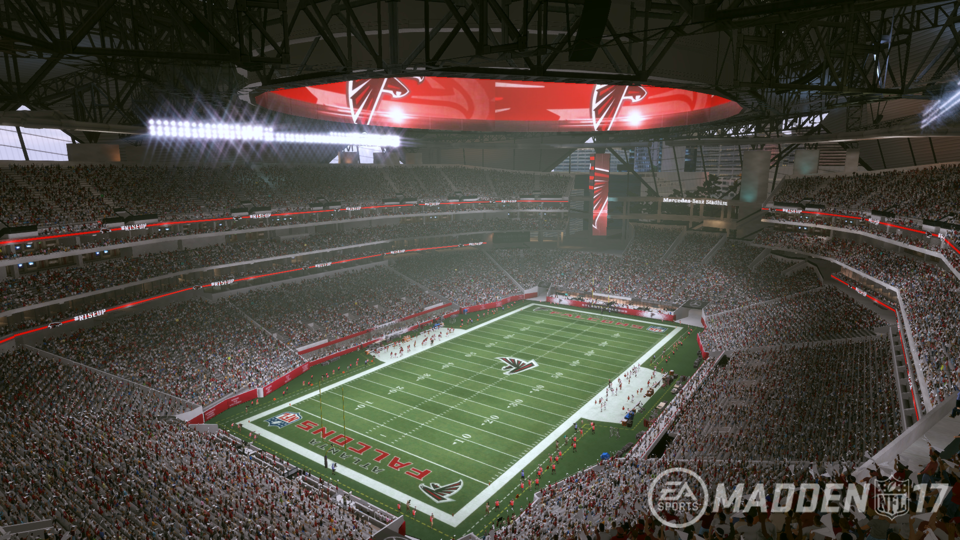 tour the nfl s newest stadium with madden nfl 17 polygon