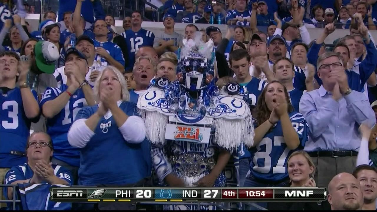 Hello, Colts robot monster man