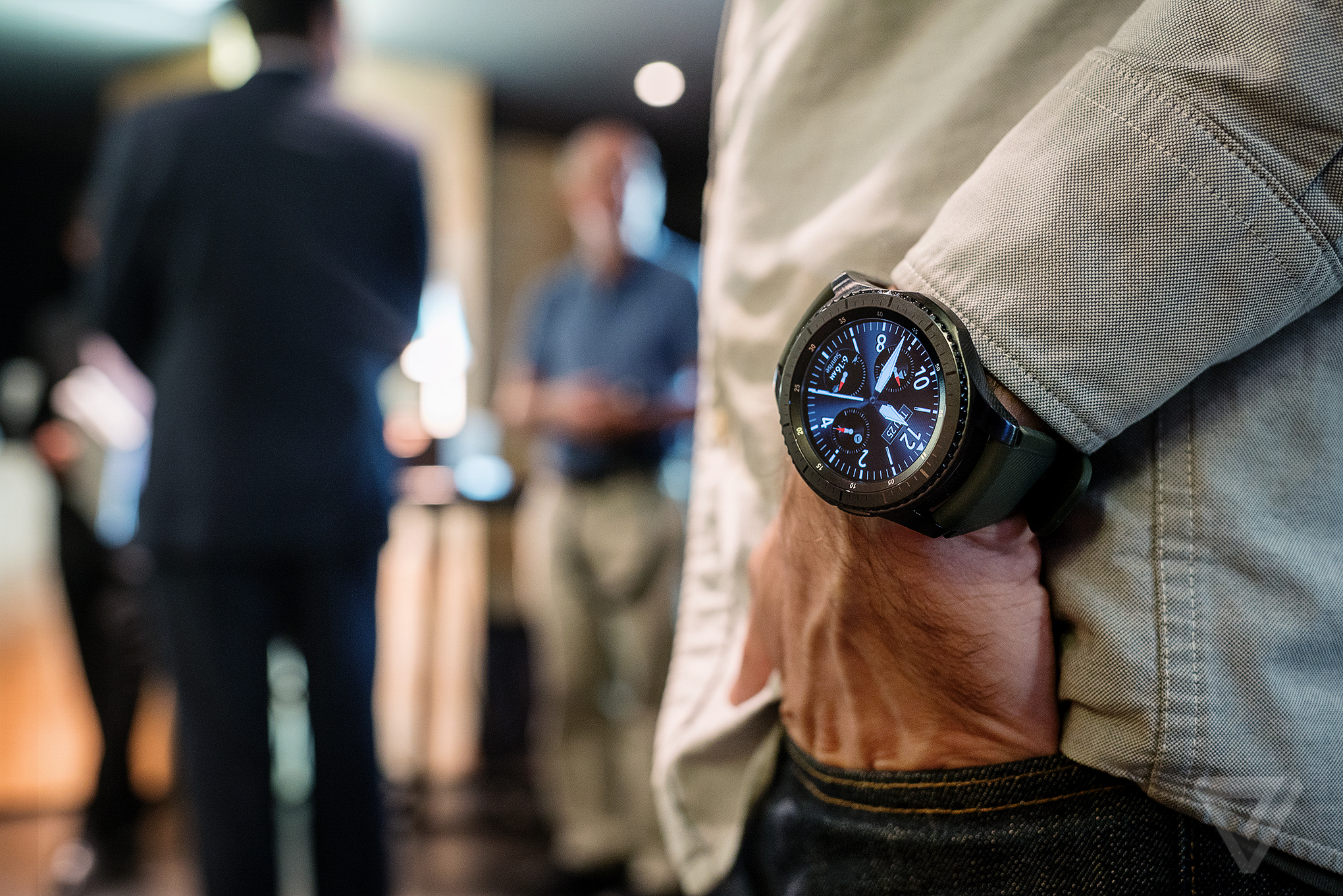 Samsung's Gear S3 has GPS, LTE, and a bigger screen - The ...