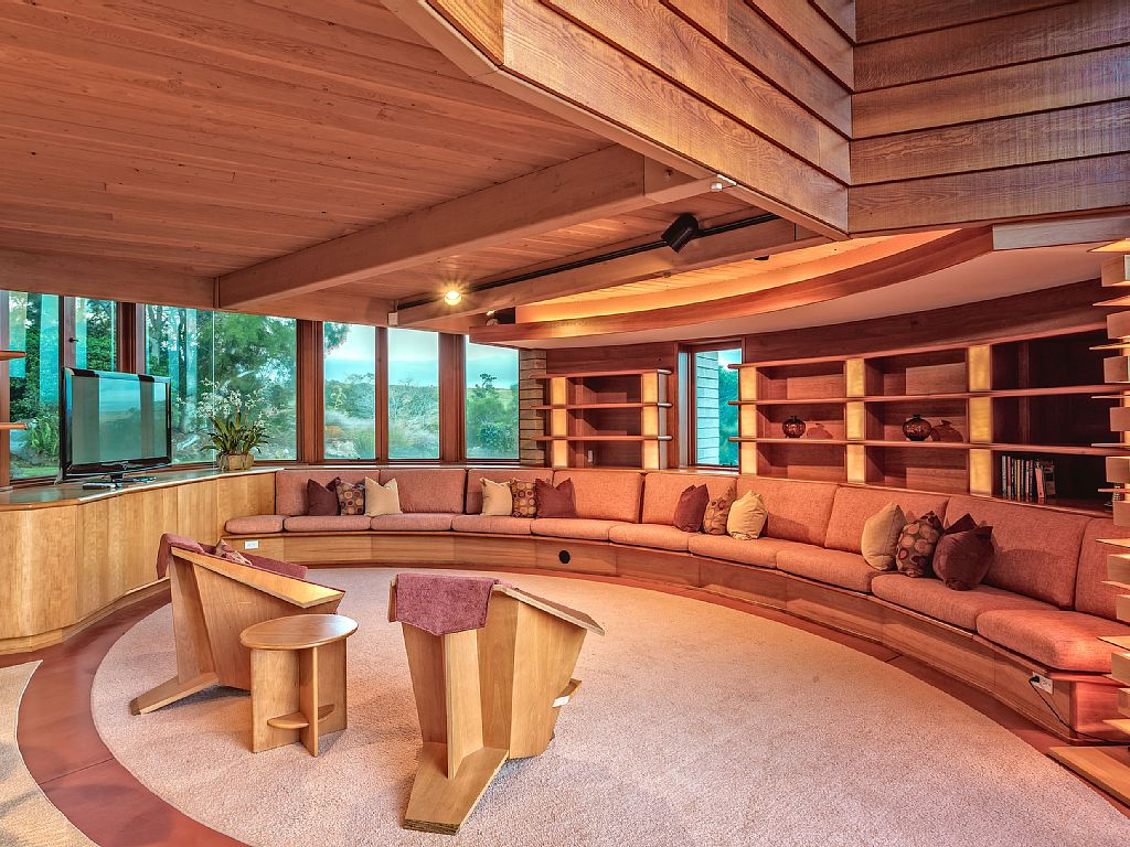 frank lloyd wright home interiors 11 frank lloyd wright homes you can rent right now curbed 23770
