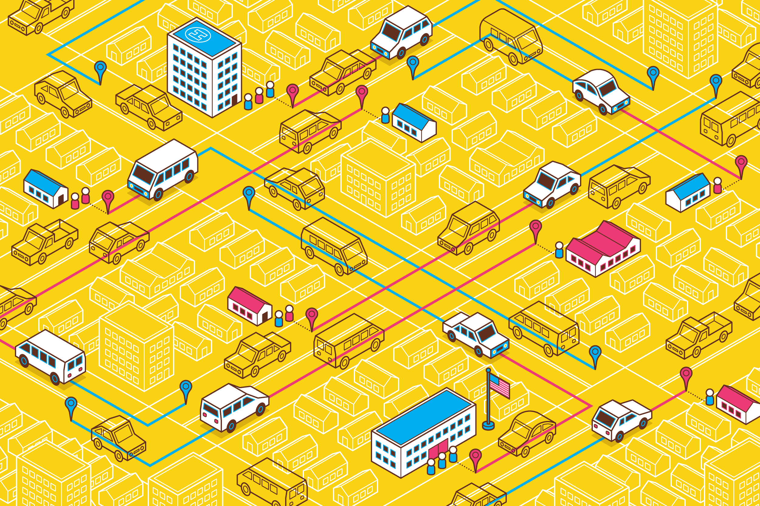 Uber wants to take over public transit, one small town at a time