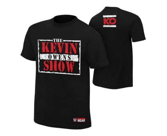 raw is the kevin owens show, and here's a shirt to prove it