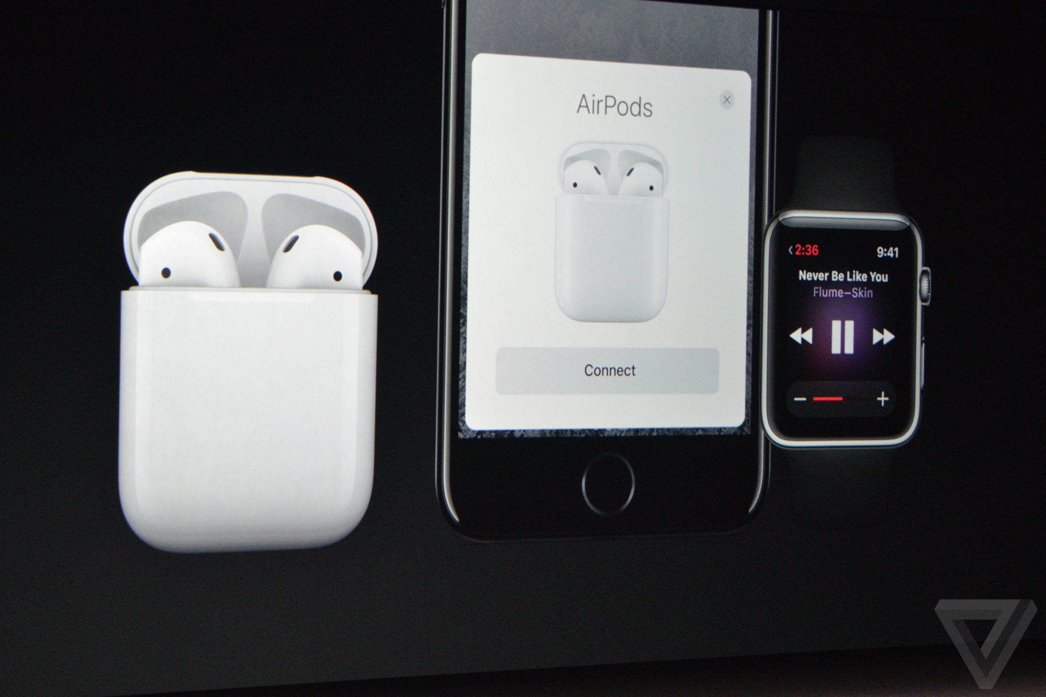 Apple Airpods Are Truly Wireless Earbuds The Verge