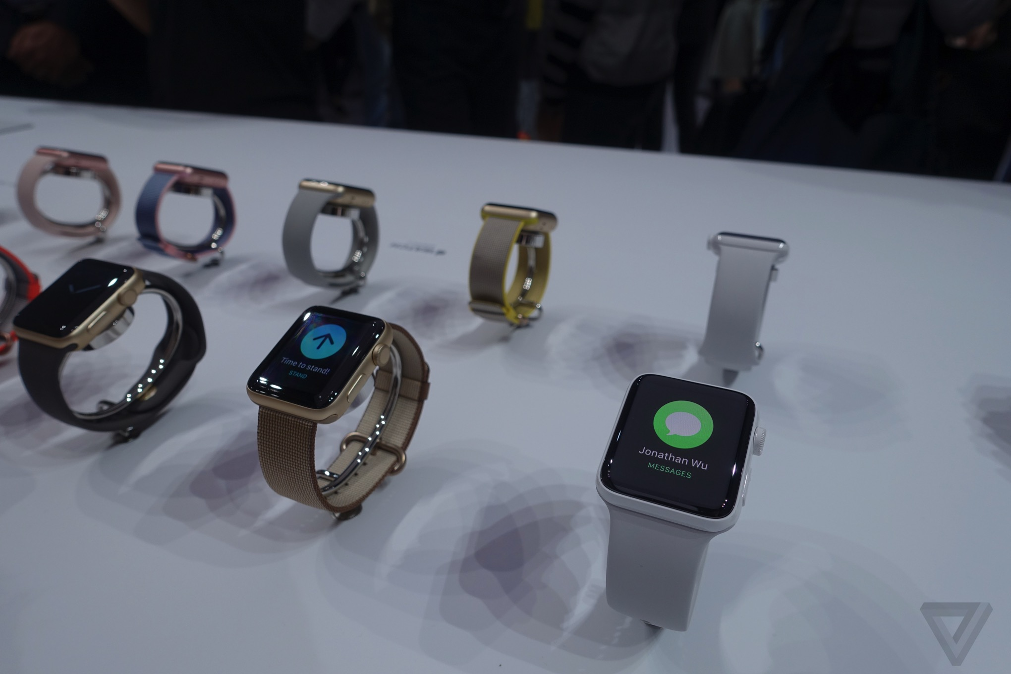 Up close with the new Apple Watch Series 2: waterproof ...