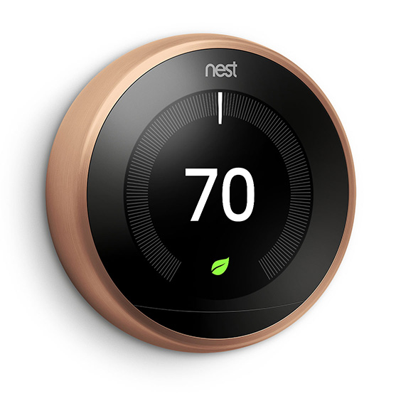 Nest S Learning Thermostat Now Comes In White Black And
