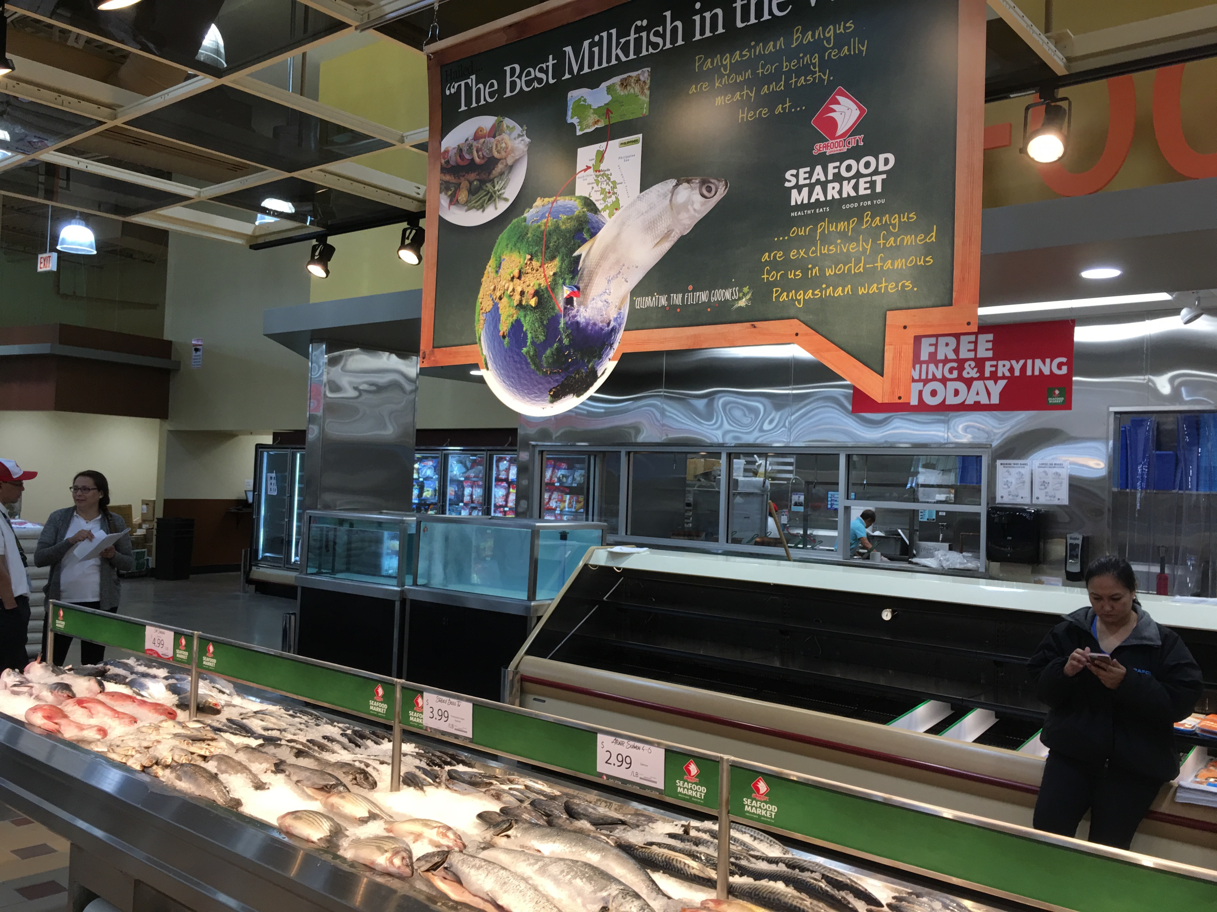 Filipino mega market seafood city opening on wednesday in for City fish market menu