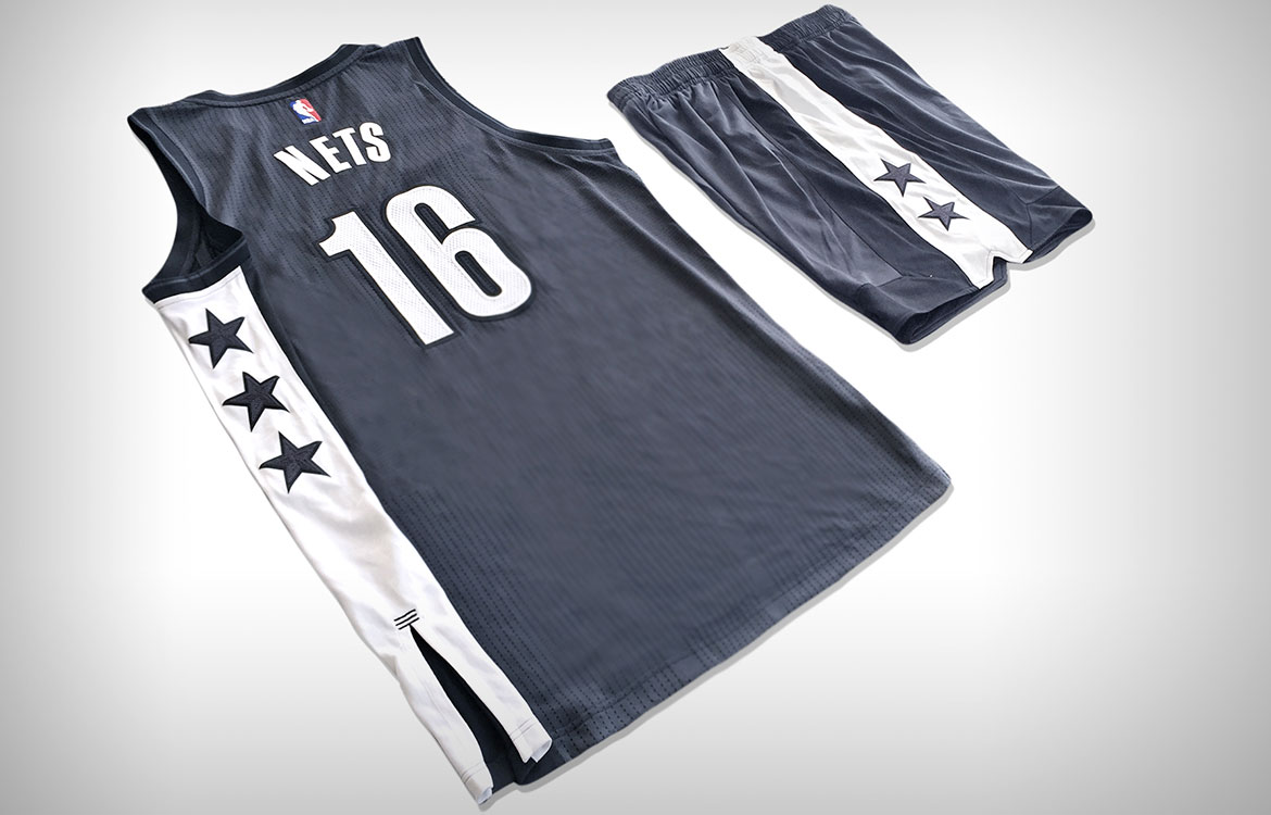"Brooklyn Nets Unveil NETS ""Remix"" Jerseys - NetsDaily"