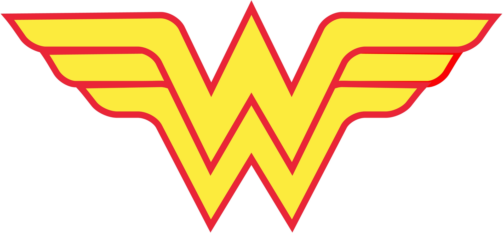 Image result for Wonder Woman logo white background