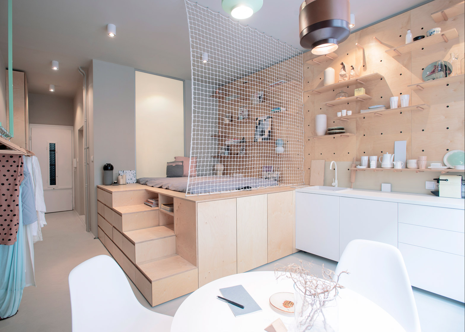 Photo By Balzs Gldi Via Dezeen Boutique Or Micro Apartment