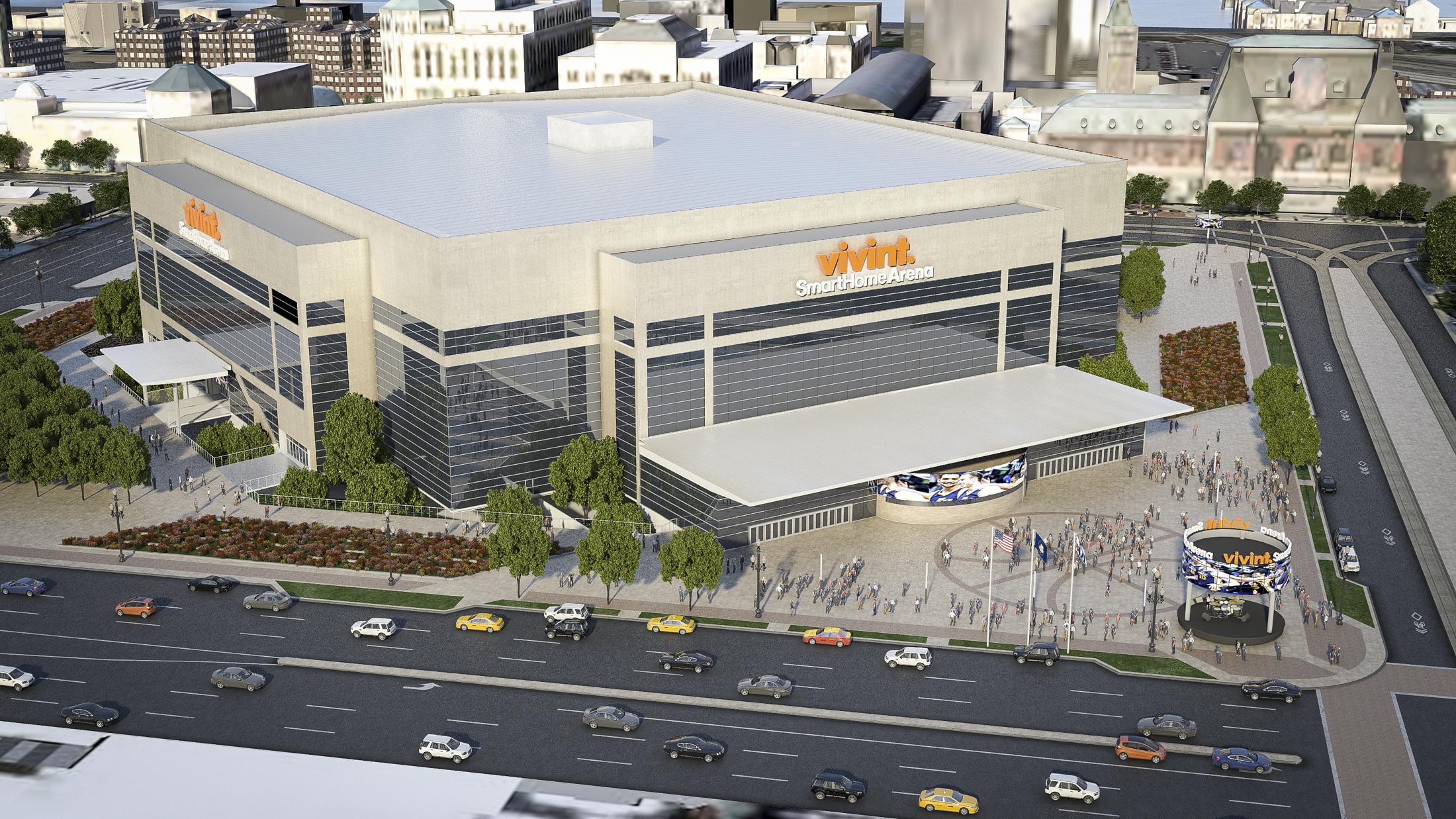 Utah Jazz Vivint Smart Home Arena To Receive 125m