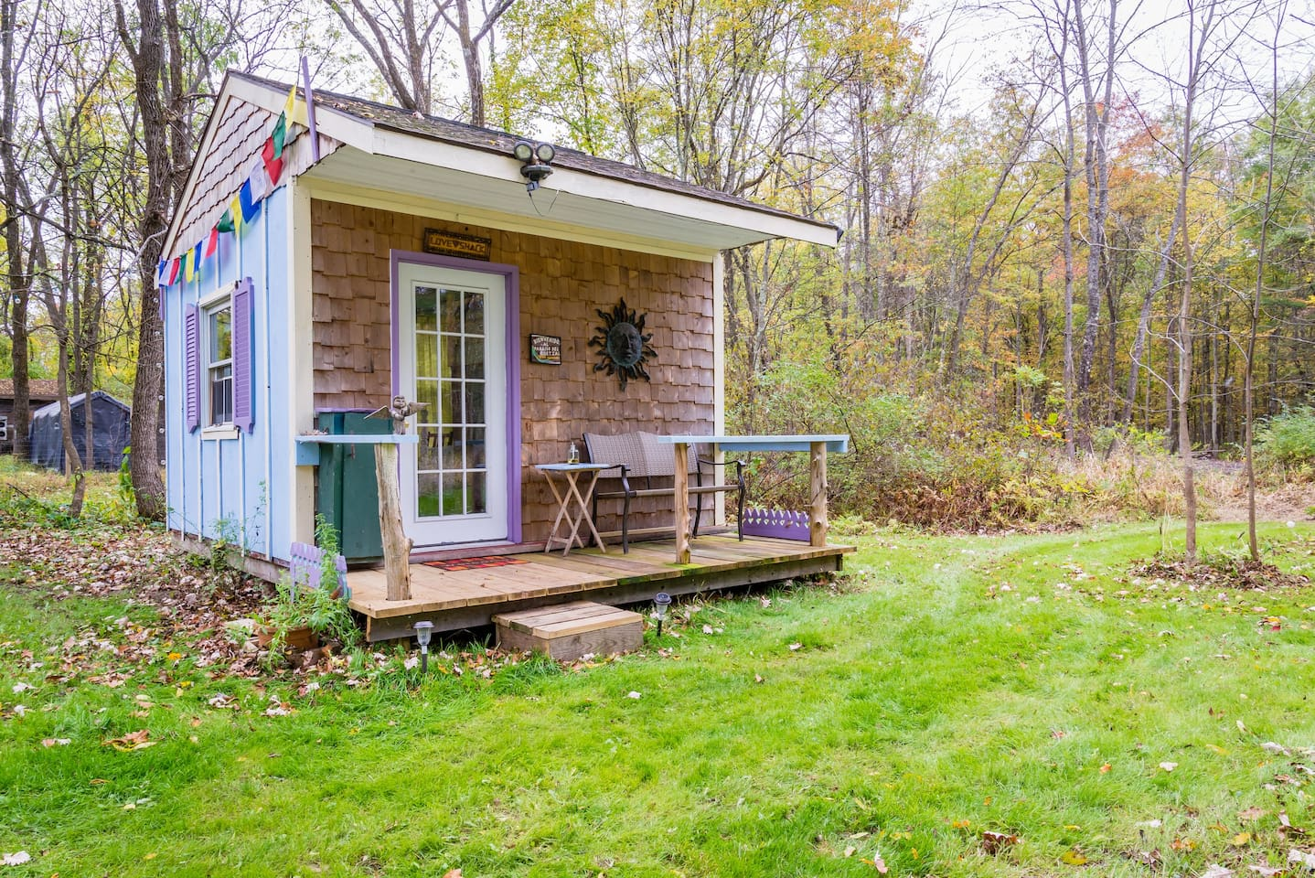 A Tiny Home In Rosendale, New York.