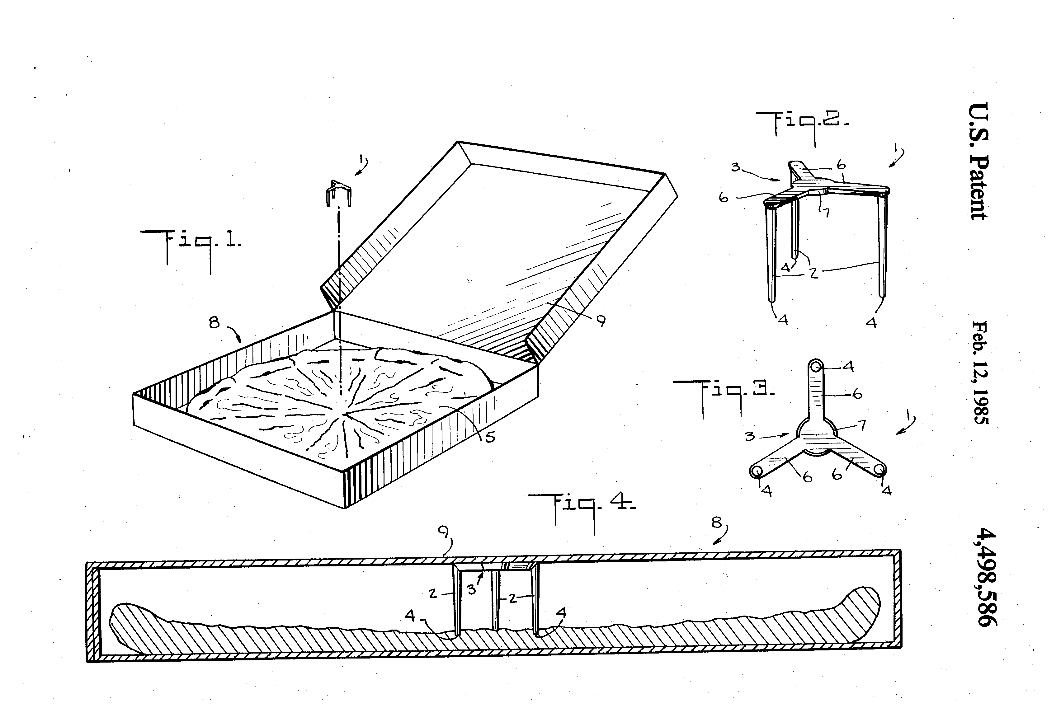 all hail the pizza saver the tiny piece of plastic protecting patent illustration for the