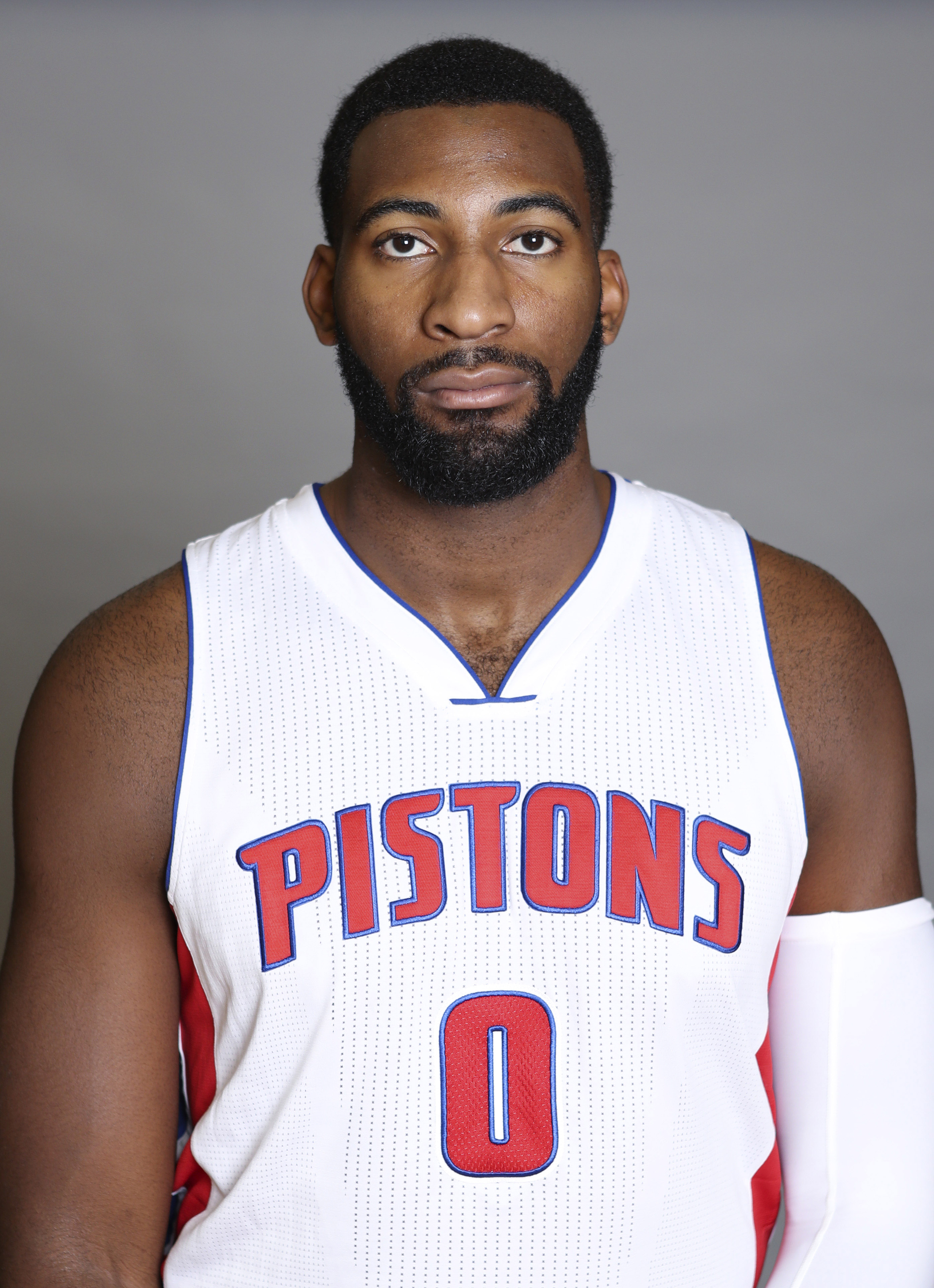 Andre Drummond meets the press - Detroit Bad Boys
